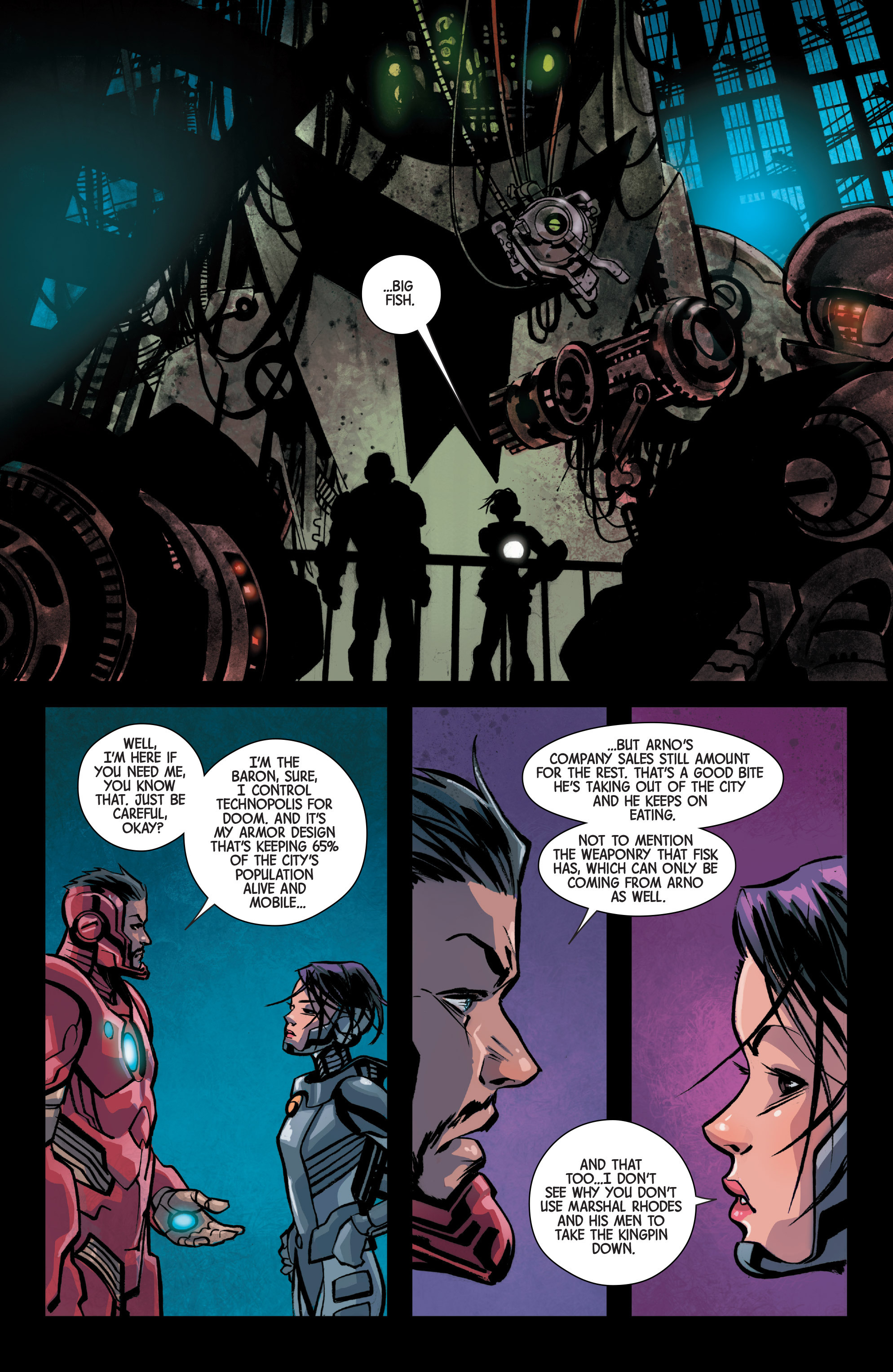 Read online Armor Wars comic -  Issue #1 - 18