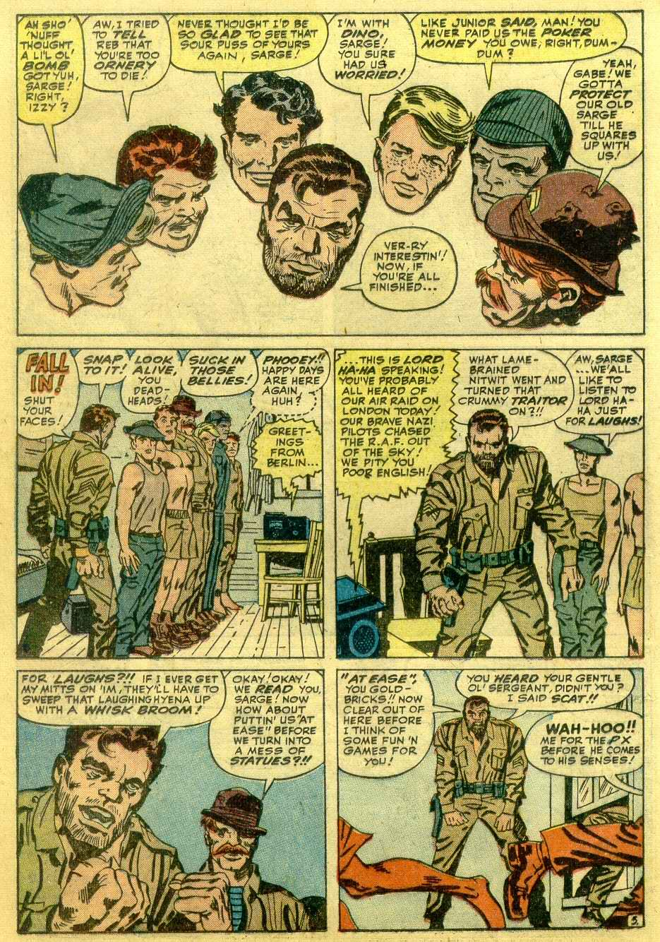 Read online Sgt. Fury comic -  Issue # _Annual 1 - 28