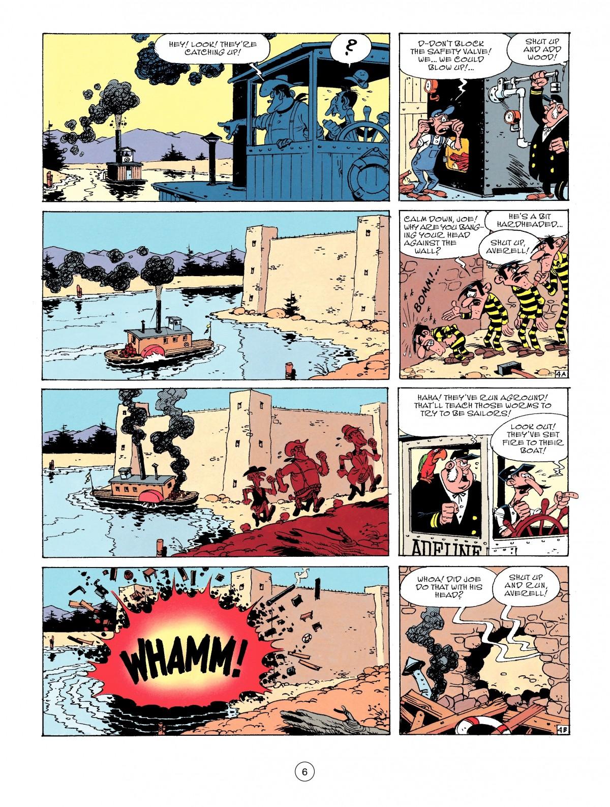 Read online A Lucky Luke Adventure comic -  Issue #53 - 6