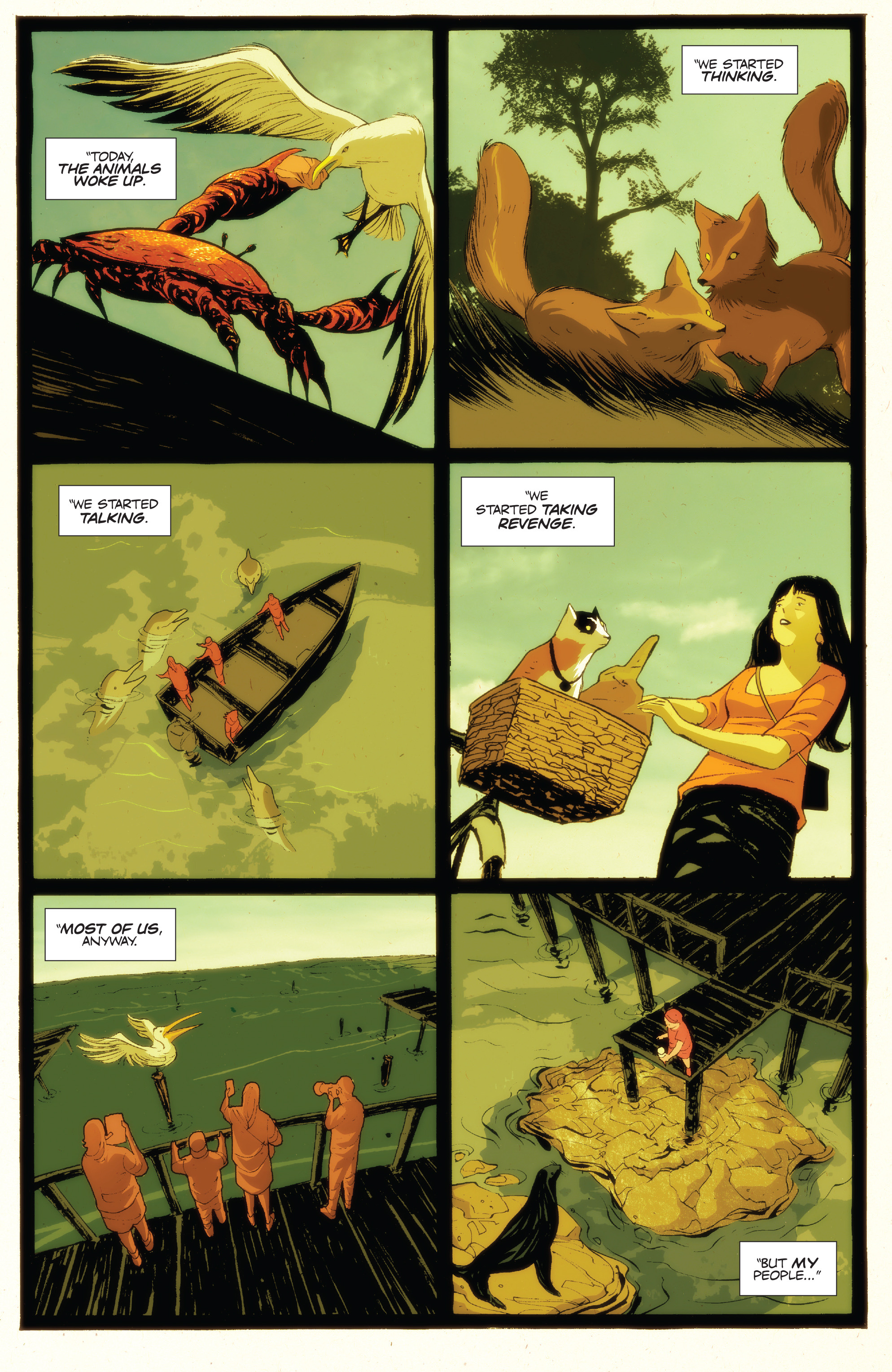 Read online Animosity: The Rise comic -  Issue #Animosity: The Rise Full - 4