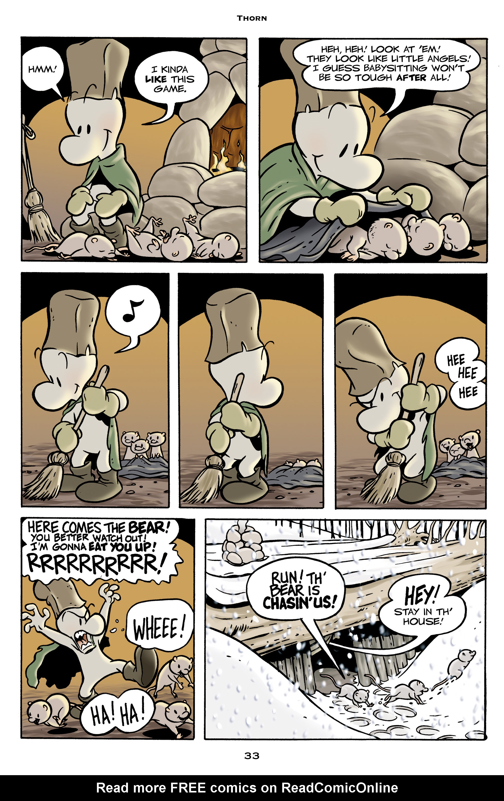 Read online Bone: Out From Boneville comic -  Issue # TPB - 33