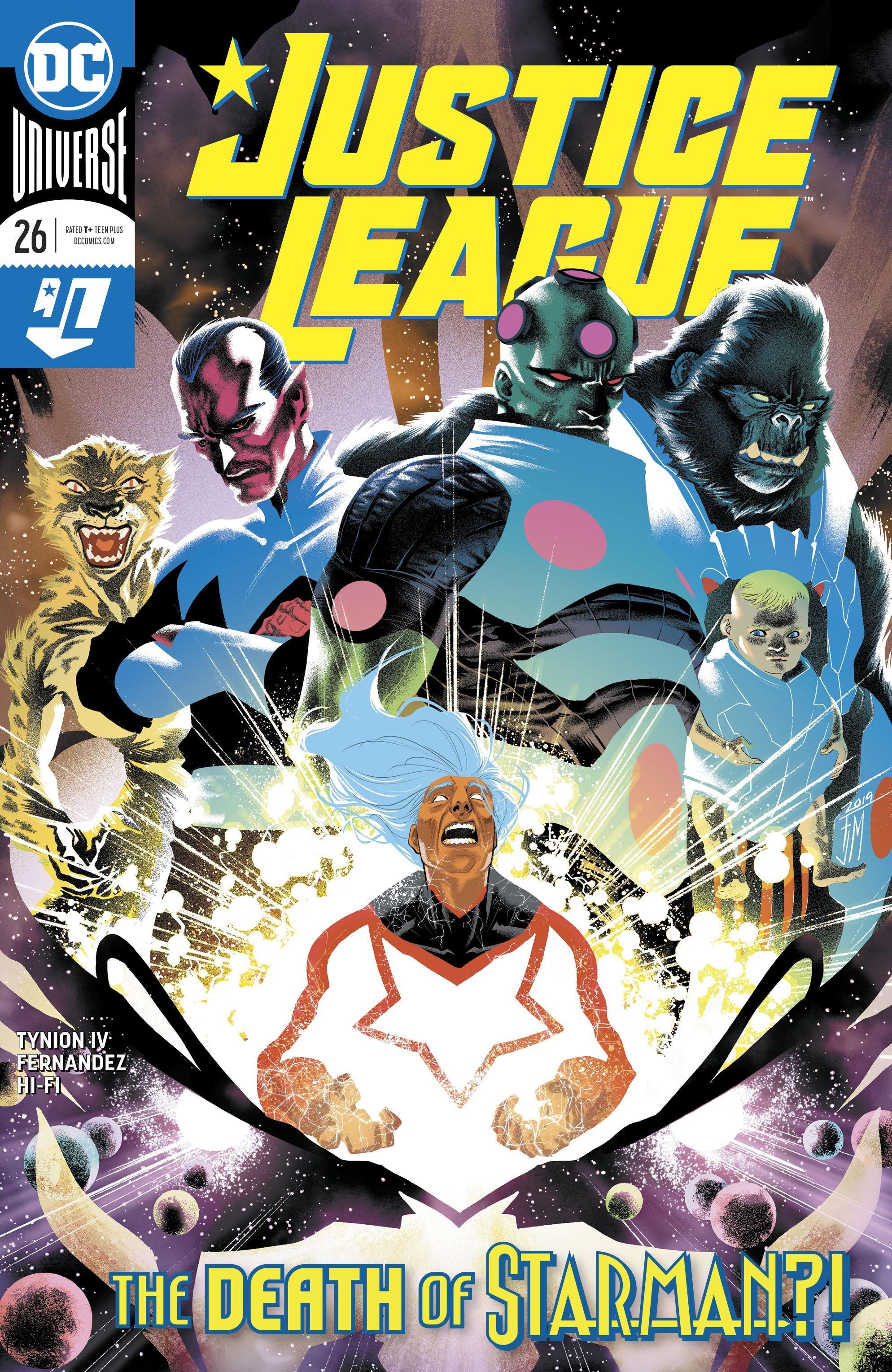 Justice League (2018) 26 Page 1
