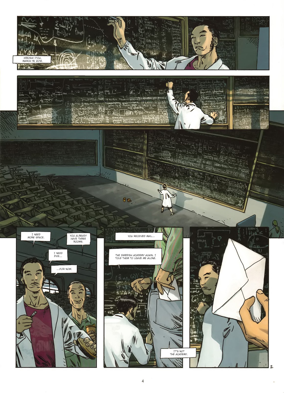 Read online Cutting Edge (2013) comic -  Issue #1 - 5