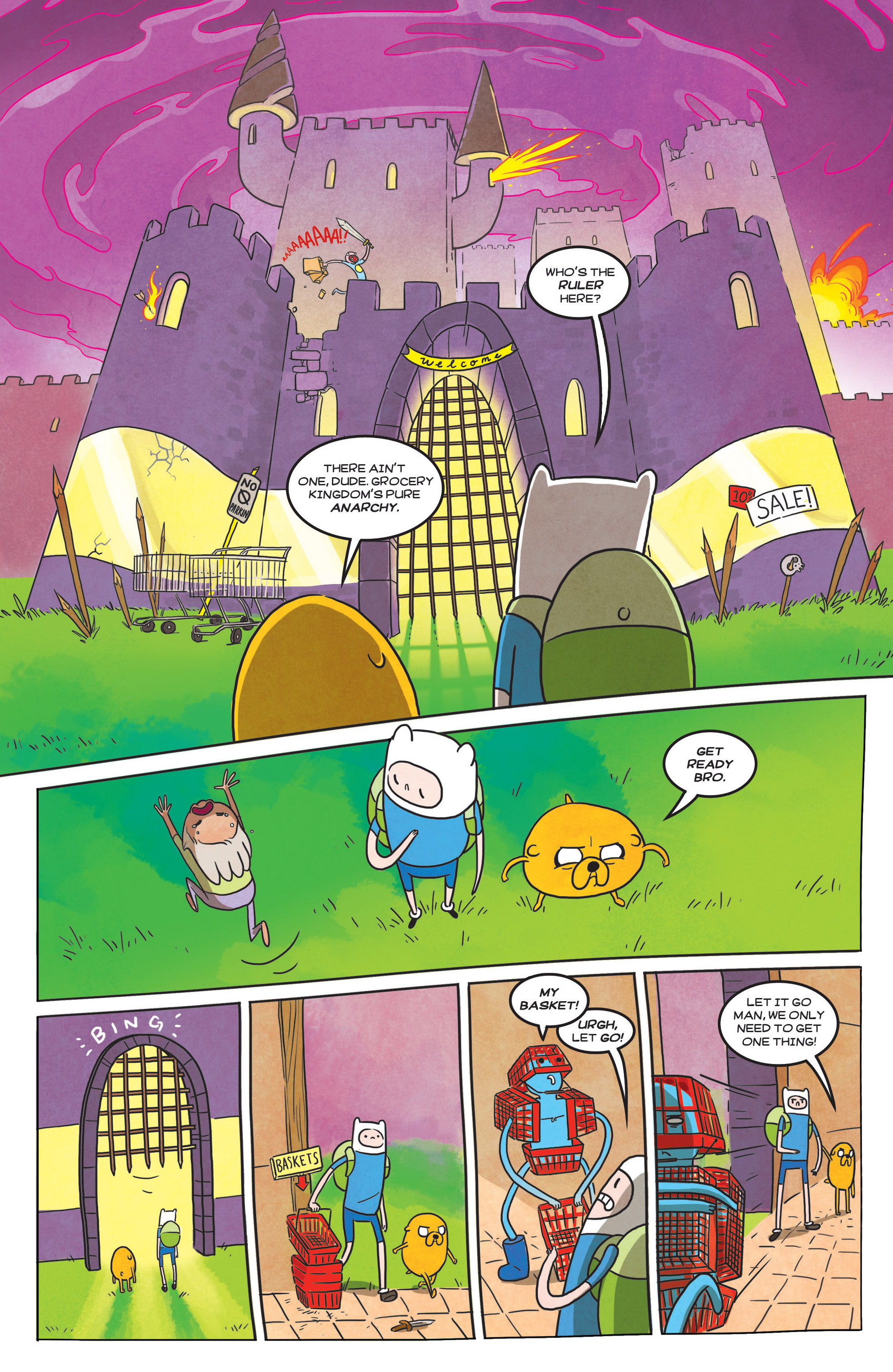 Read online Adventure Time comic -  Issue #39 - 20