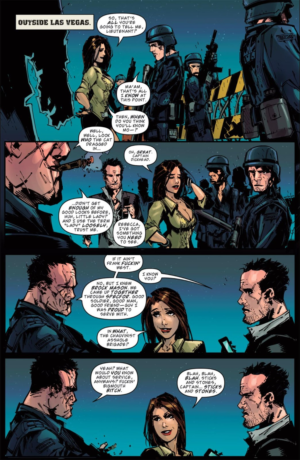 Read online Dead Rising: Road to Fortune comic -  Issue #4 - 17