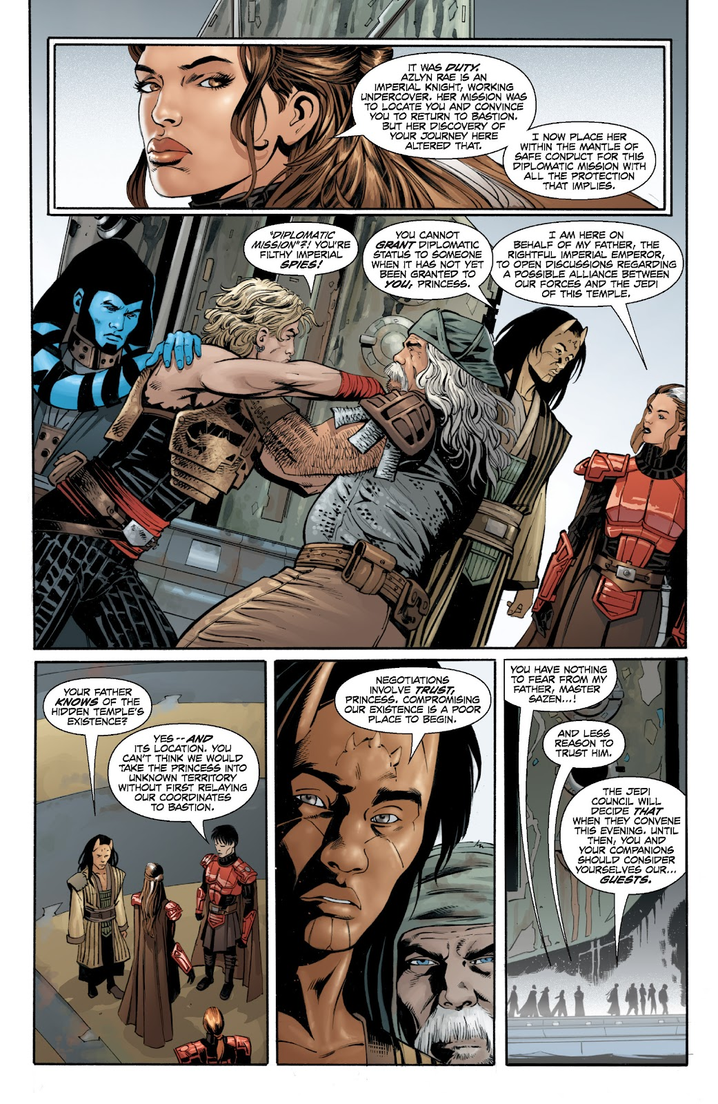 Read online Star Wars Legends: Legacy - Epic Collection comic -  Issue # TPB 2 (Part 2) - 59