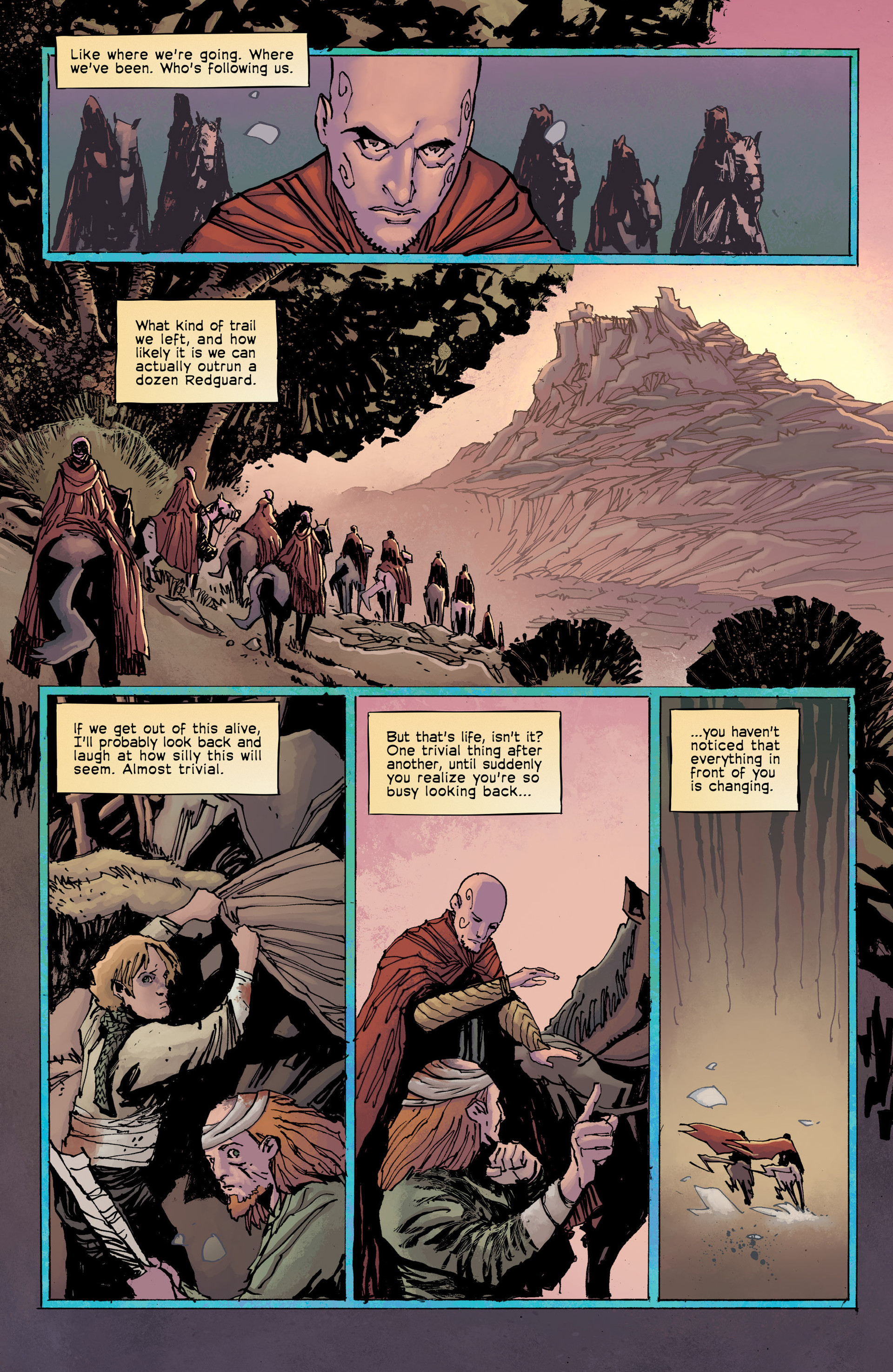 Read online Umbral comic -  Issue #8 - 11