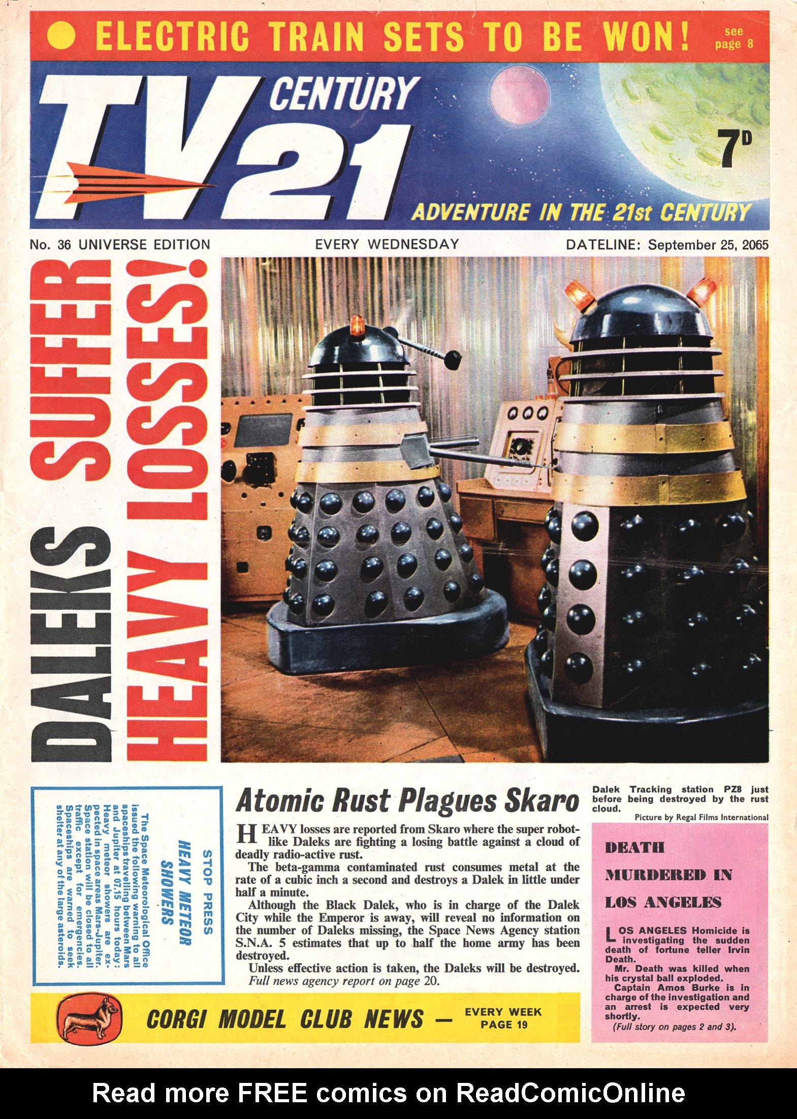 TV Century 21 (TV 21) 36 Page 1