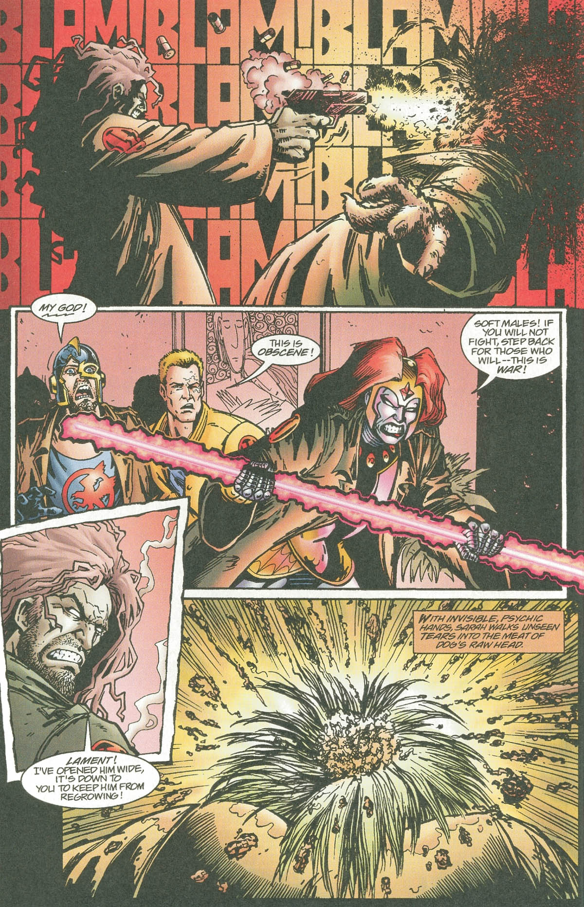 Read online UltraForce (1995) comic -  Issue #7 - 11