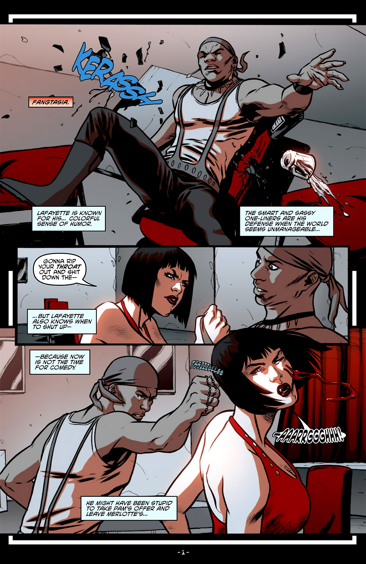Read online True Blood: French Quarter comic -  Issue #3 - 6