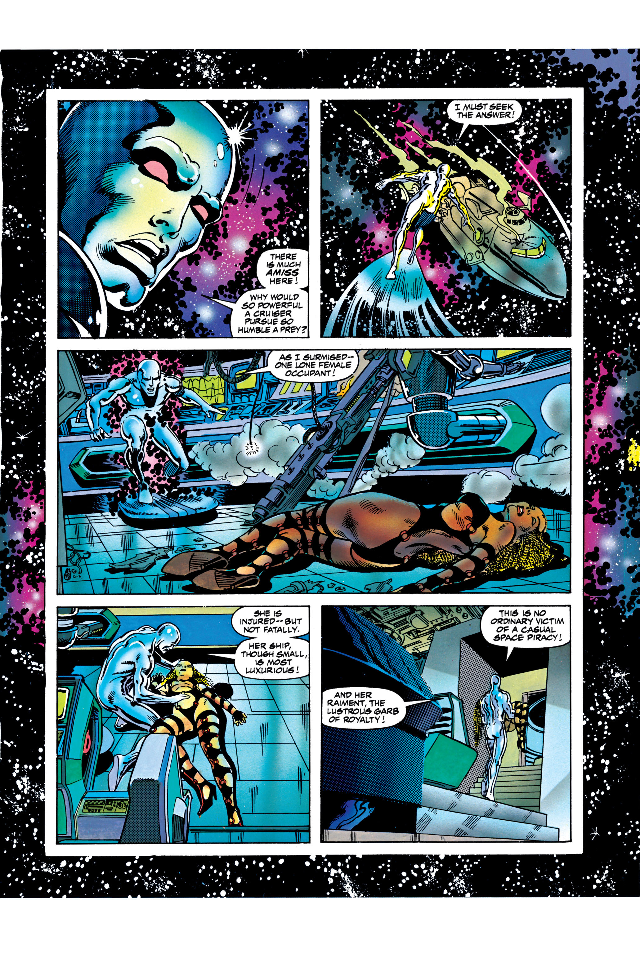 Read online Silver Surfer: Parable comic -  Issue # TPB - 98