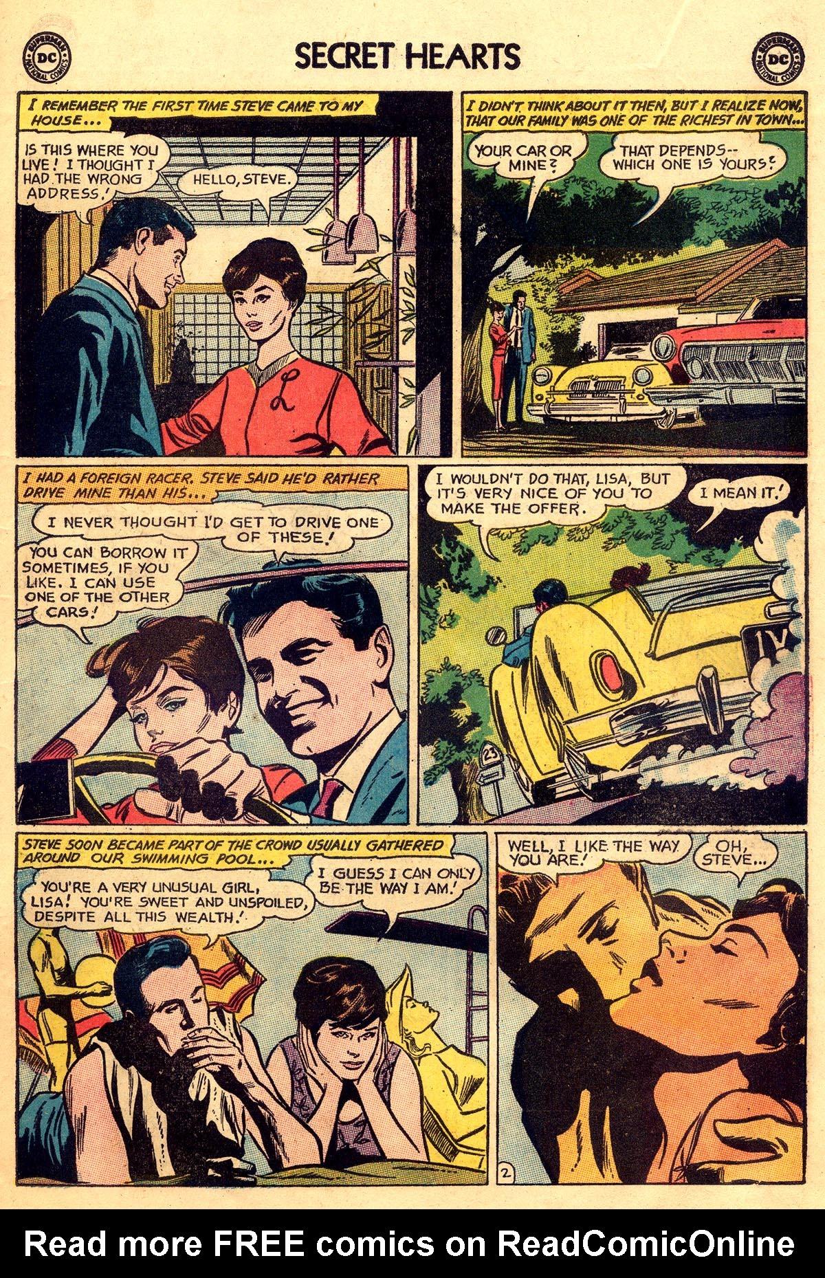 Read online Secret Hearts comic -  Issue #93 - 11