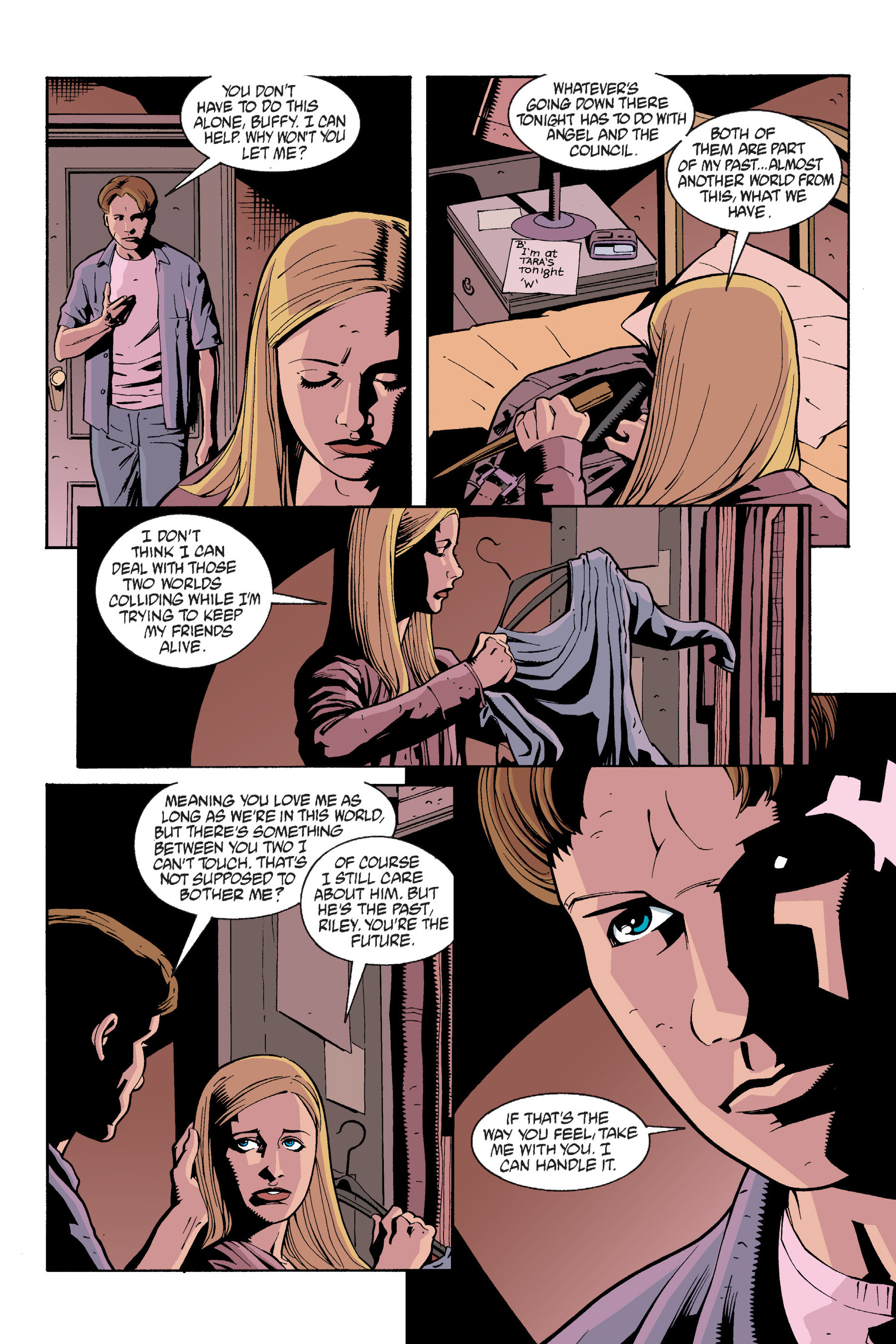 Read online Buffy the Vampire Slayer: Omnibus comic -  Issue # TPB 6 - 125
