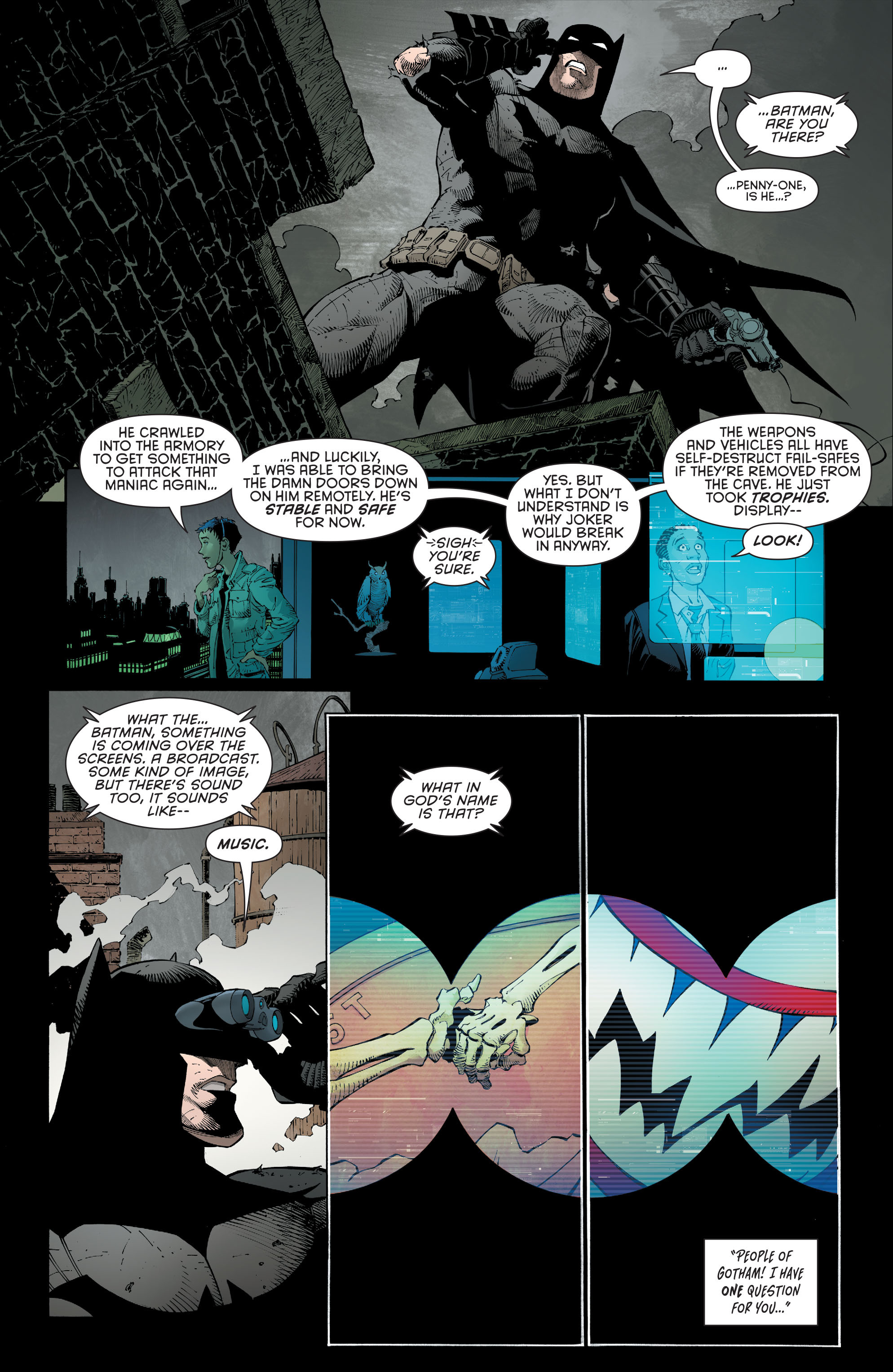 Read online Batman (2011) comic -  Issue # _TPB 7 - 115