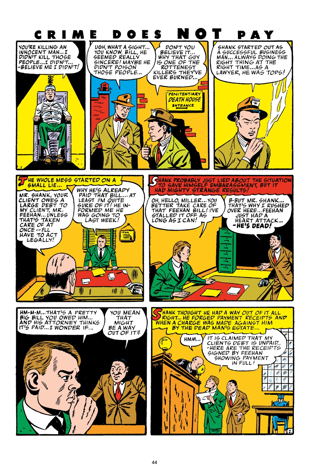 Read online Crime Does Not Pay Archives comic -  Issue # TPB 4 (Part 1) - 44