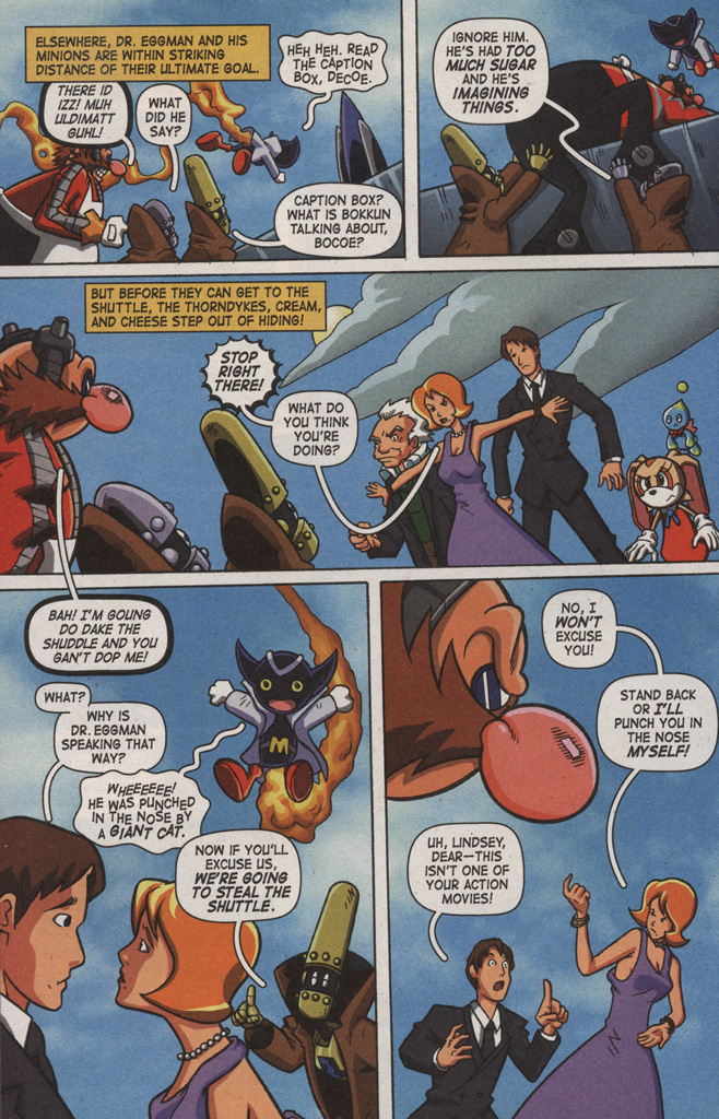 Read online Sonic X comic -  Issue #9 - 22