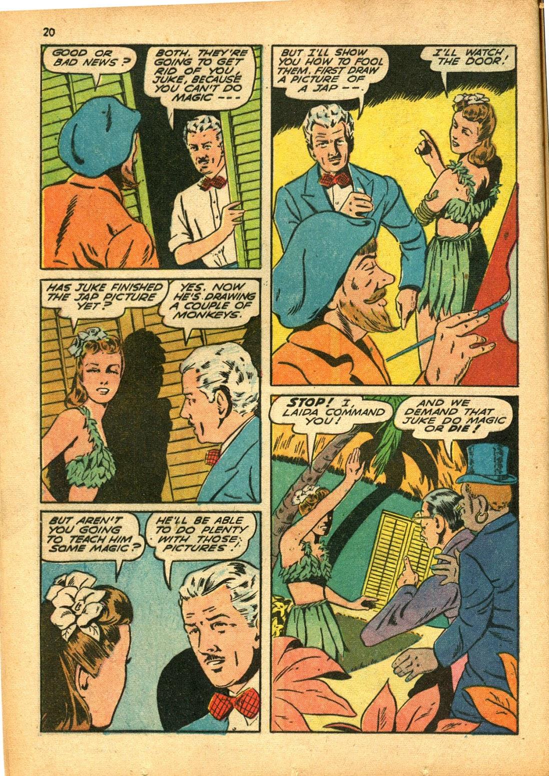 Read online Super-Magician Comics comic -  Issue #15 - 20