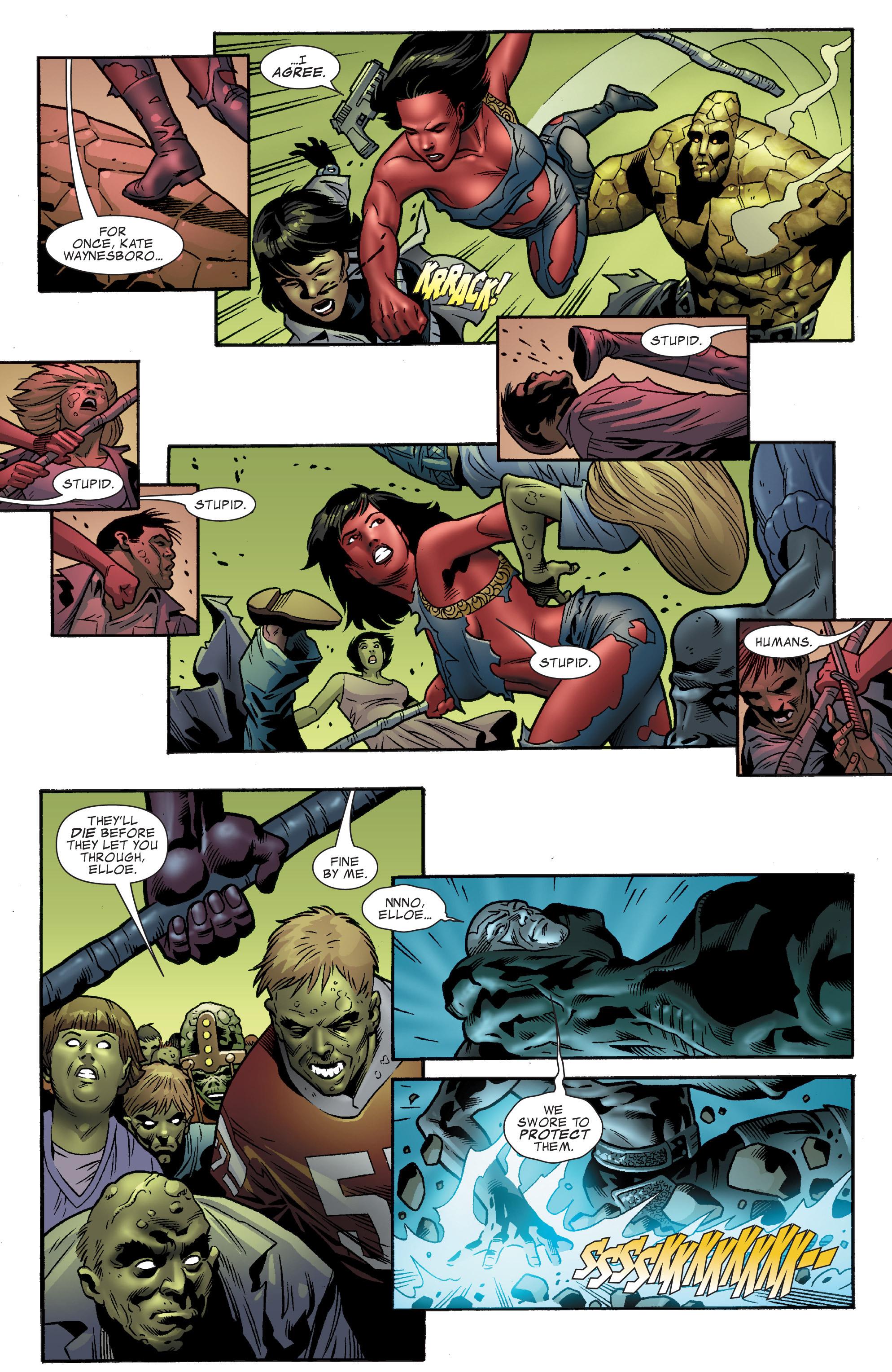 Read online World War Hulk Aftersmash: Warbound, Vol. 1 comic -  Issue #5 - 13
