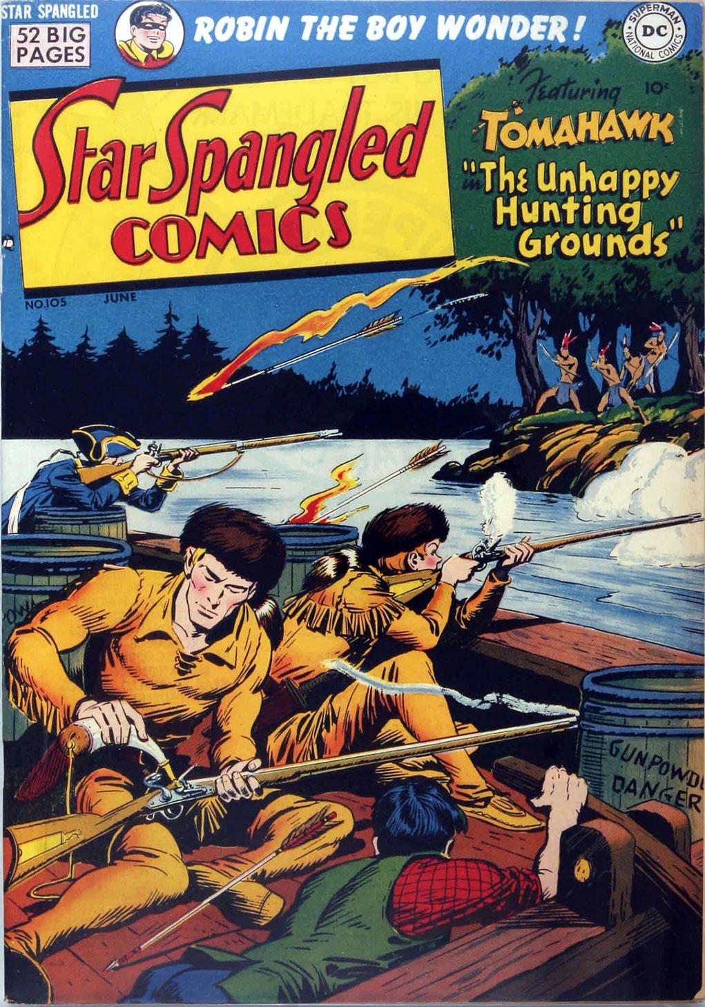 Star Spangled Comics (1941) 105 Page 1