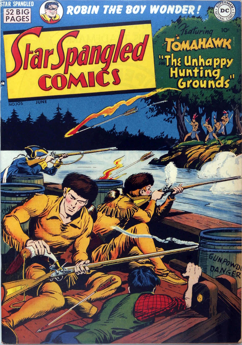 Star Spangled Comics (1941) issue 105 - Page 1