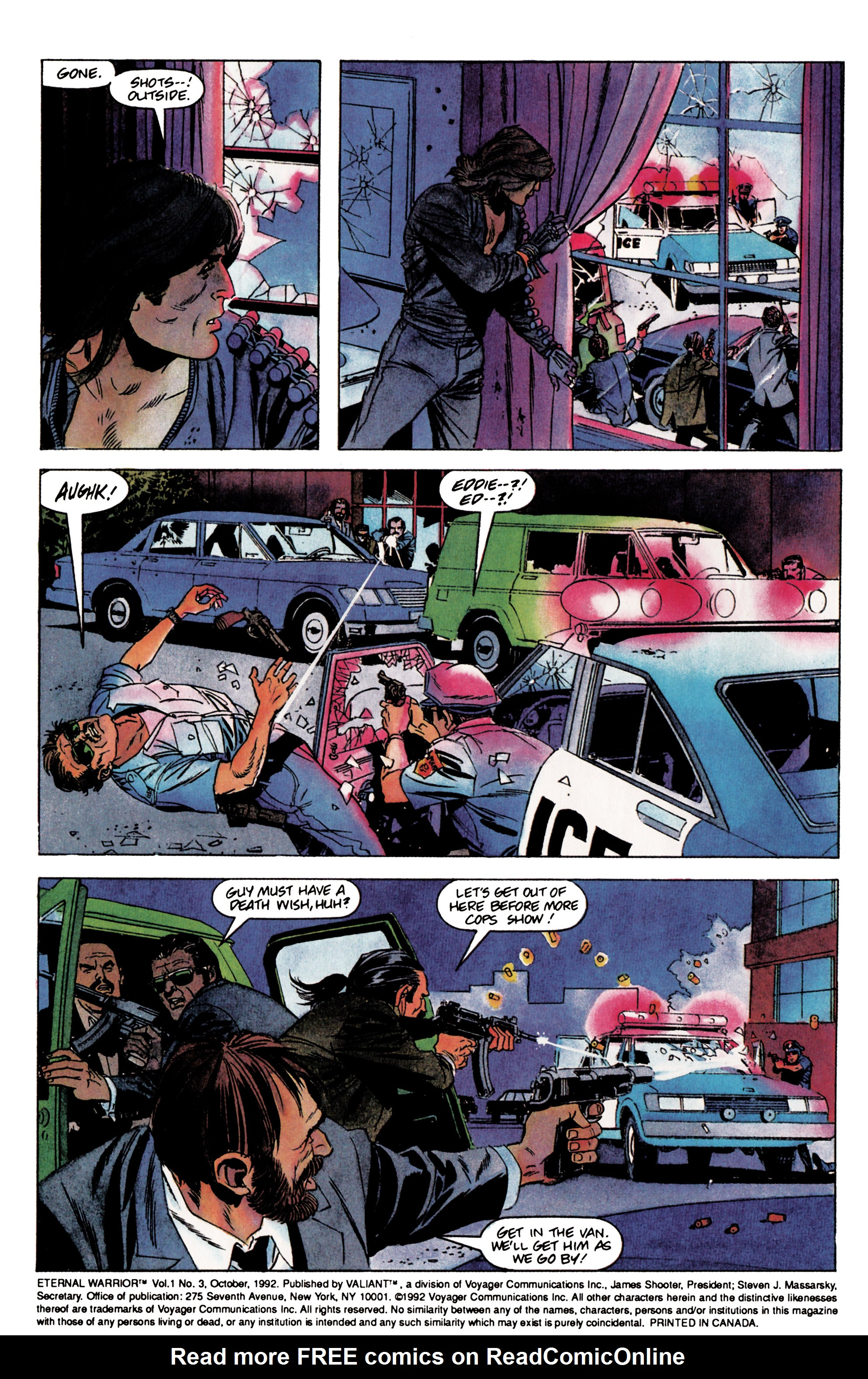 Read online Eternal Warrior (1992) comic -  Issue #3 - 3
