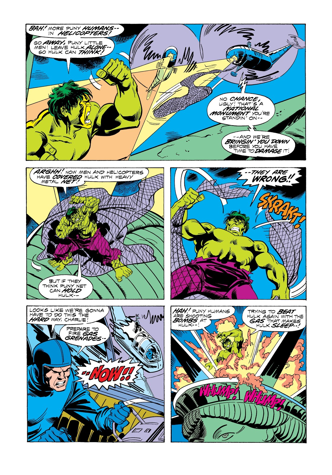 Read online Marvel Masterworks: The Incredible Hulk comic -  Issue # TPB 12 (Part 3) - 16