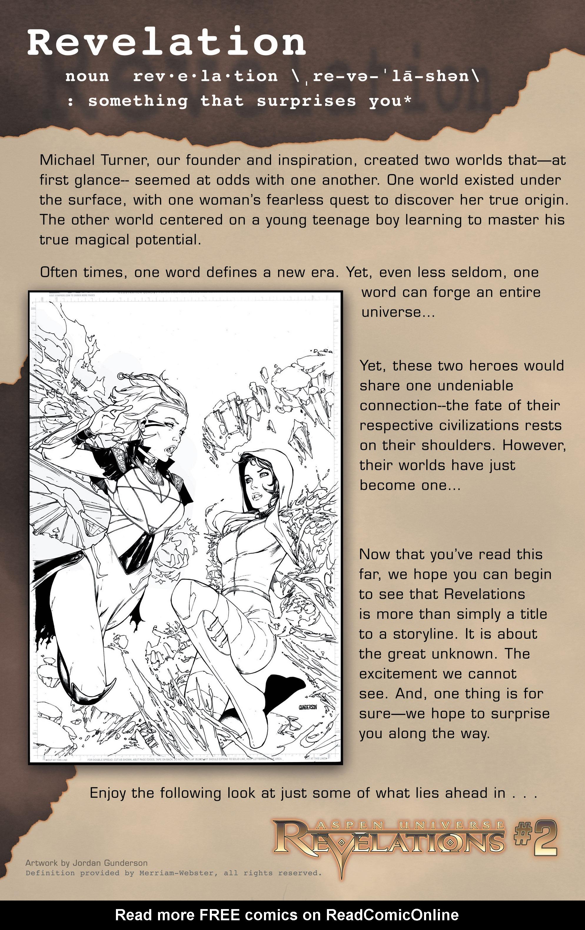 Read online Aspen Universe: Revelations comic -  Issue #1 - 24