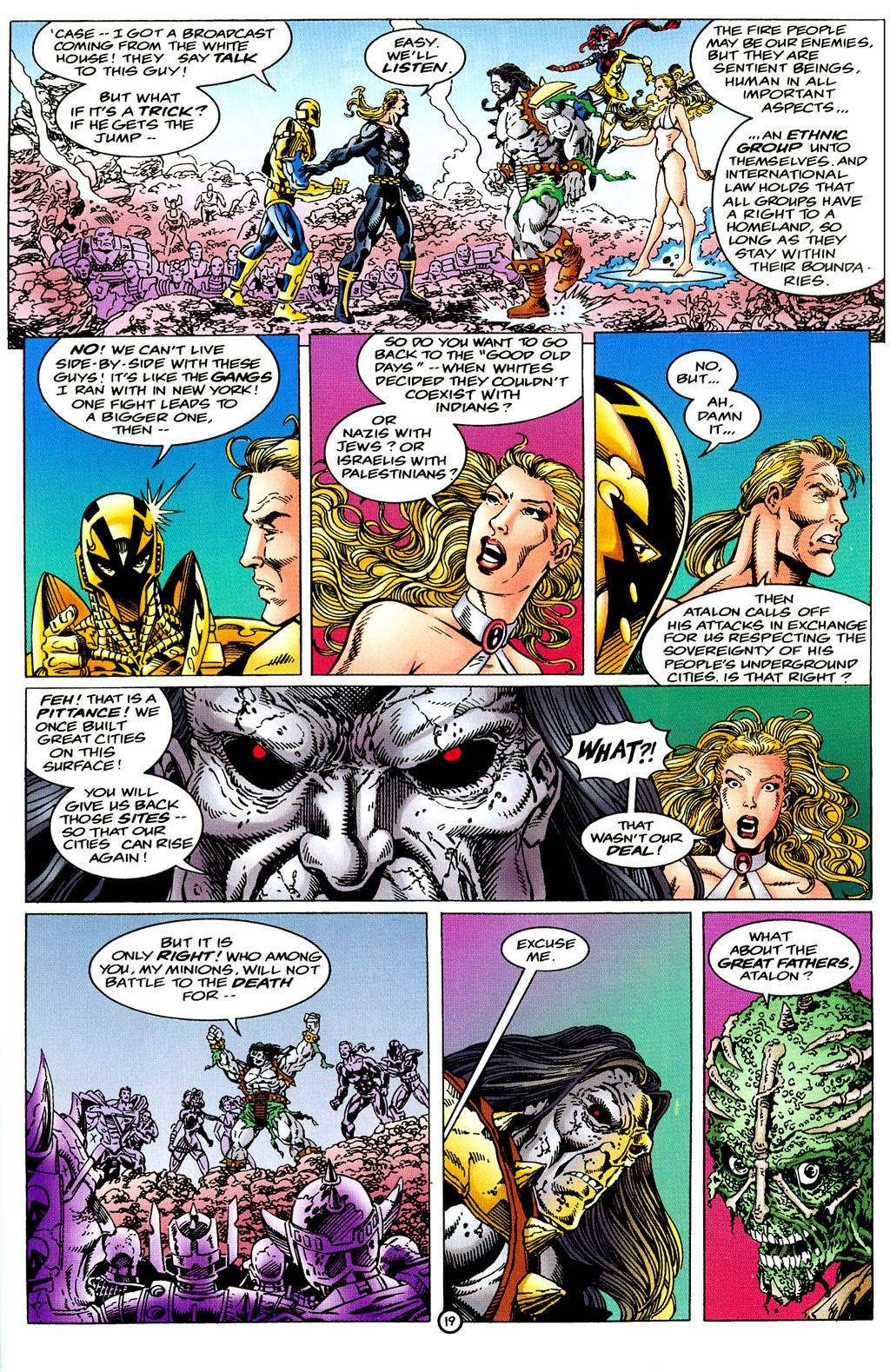Read online UltraForce (1994) comic -  Issue #6 - 19