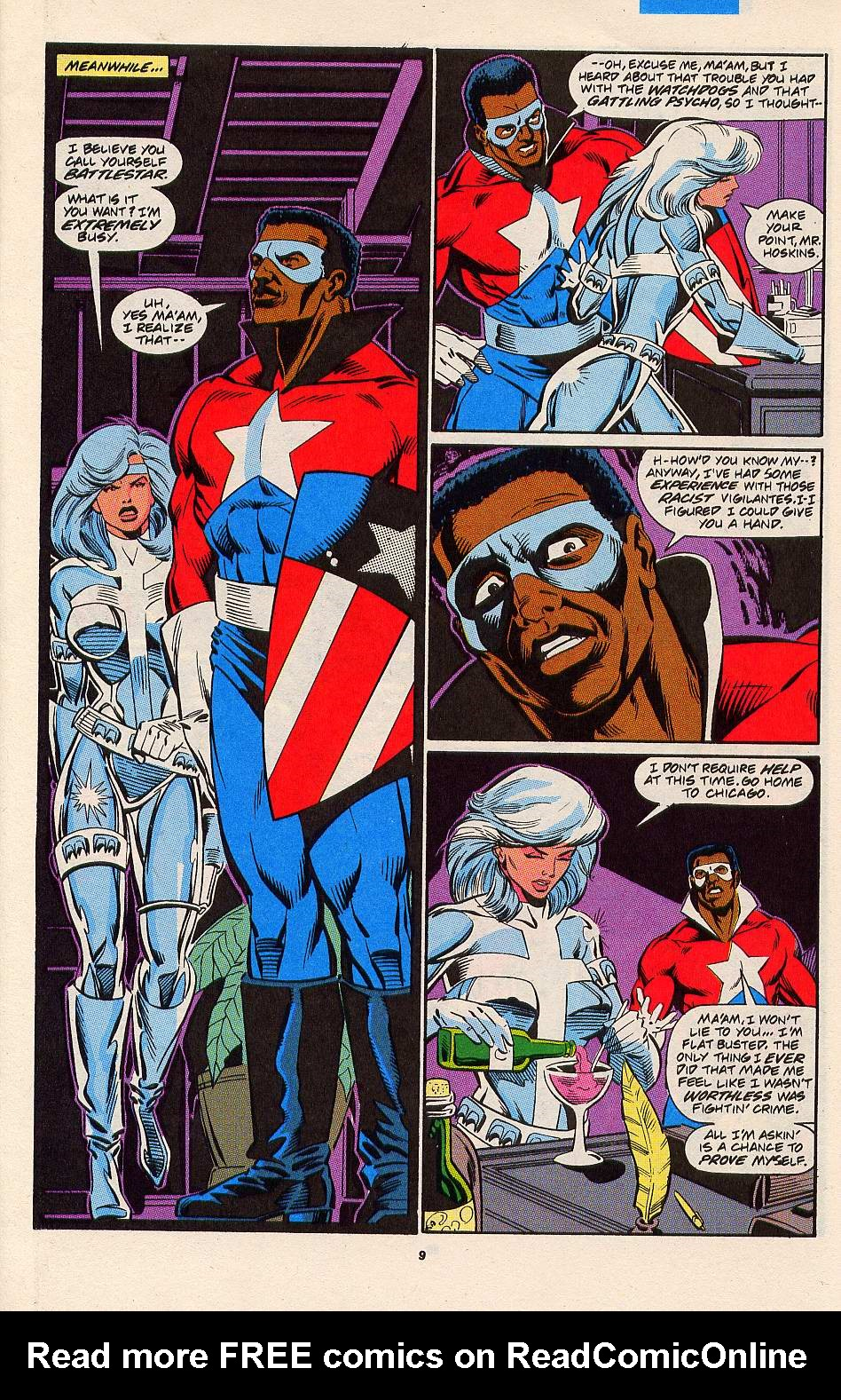 Read online Silver Sable and the Wild Pack comic -  Issue #3 - 8