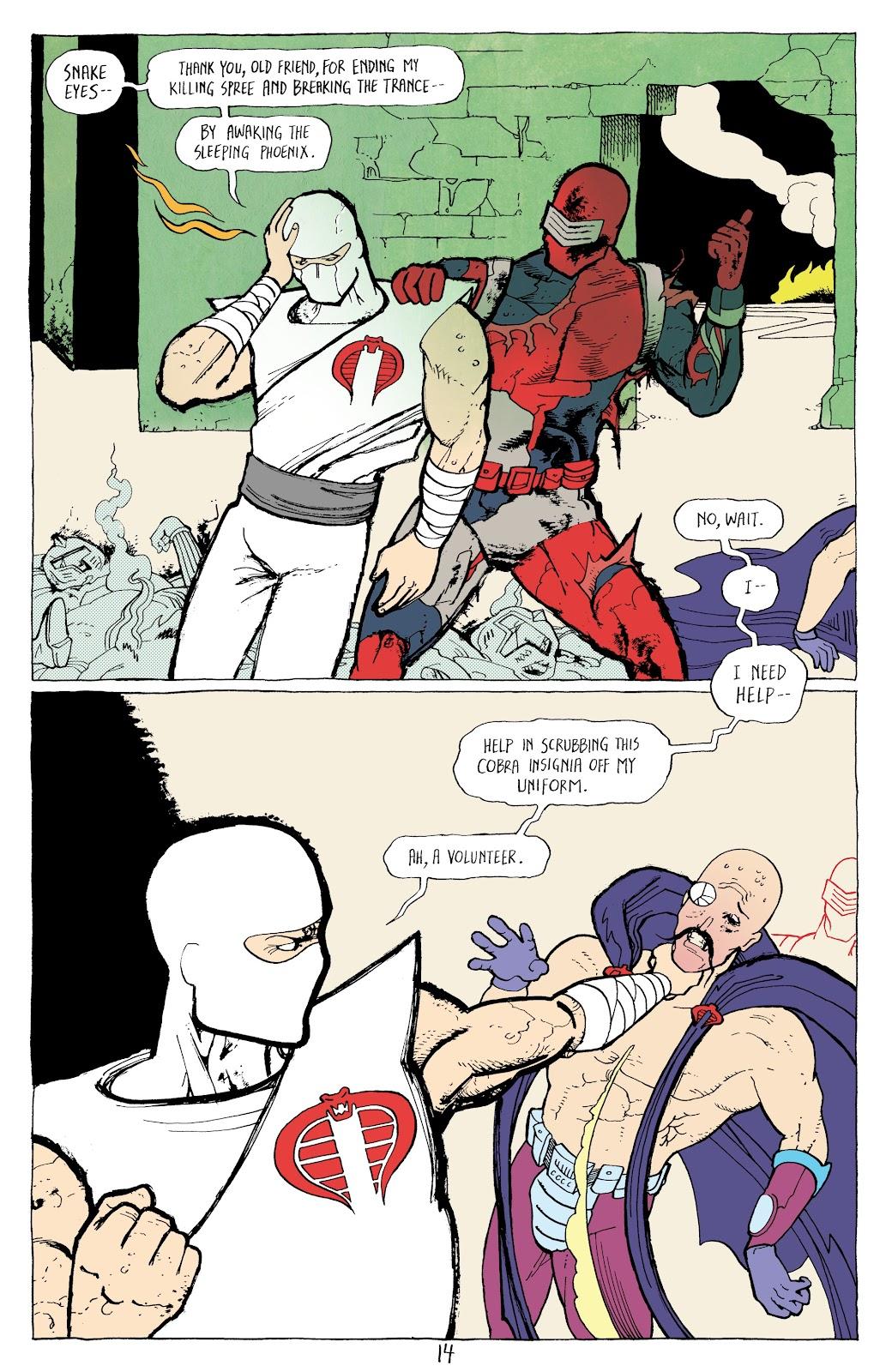 Read online G.I. Joe: Sierra Muerte comic -  Issue #3 - 16