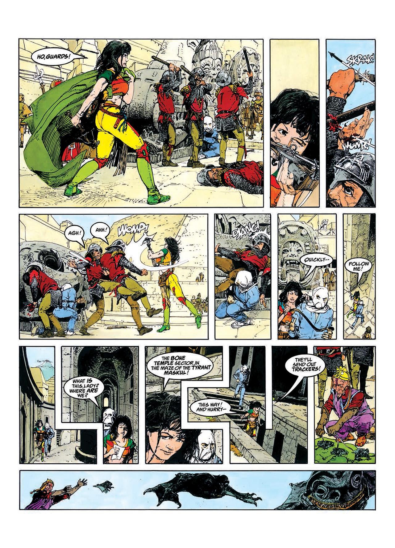 Read online Mazeworld comic -  Issue # TPB - 13