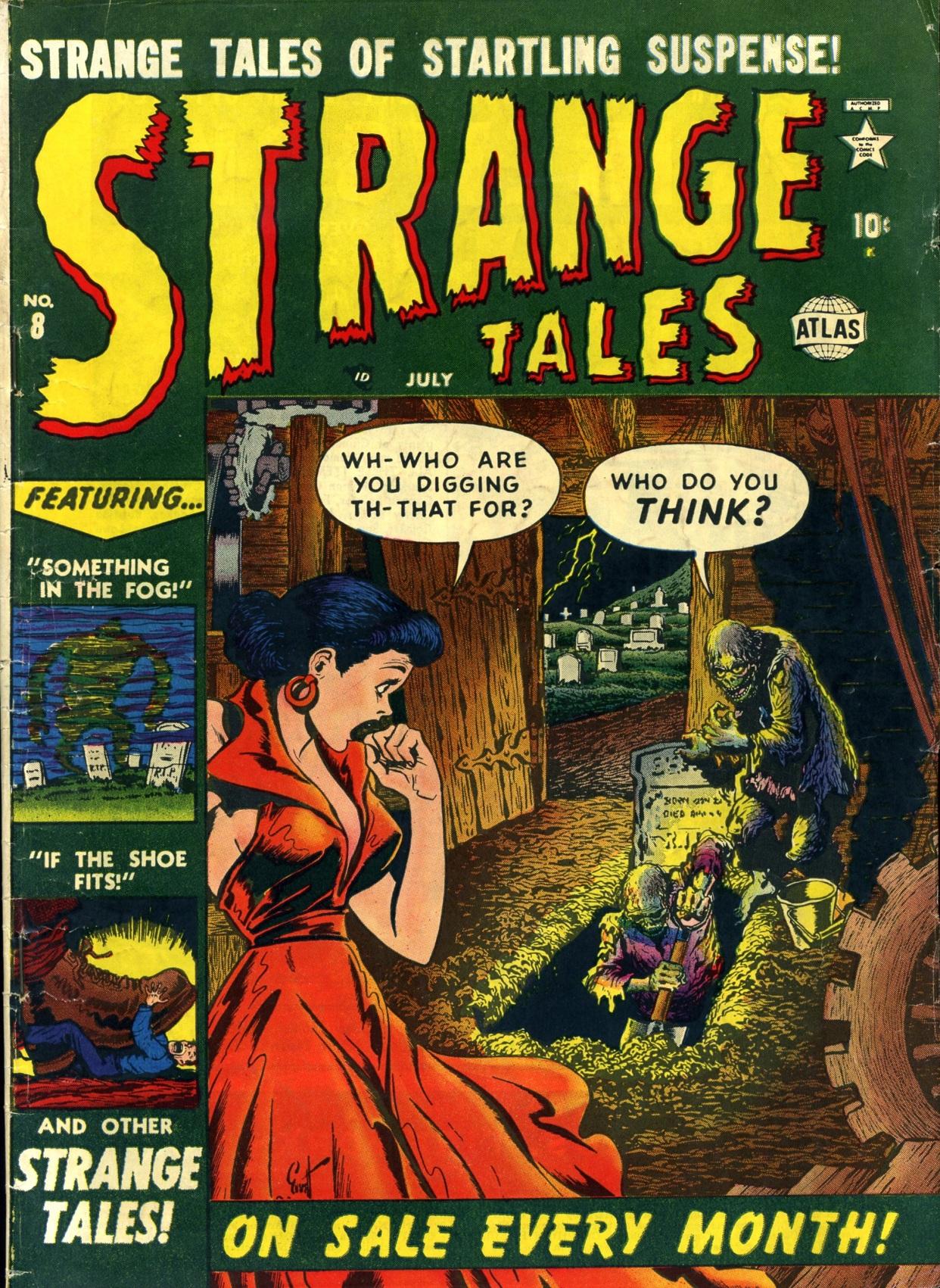 Strange Tales (1951) 8 Page 1