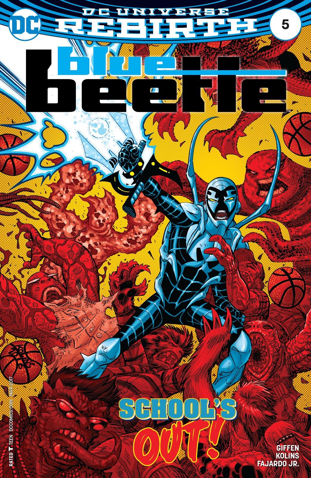 Blue Beetle (2016) 5 Page 1