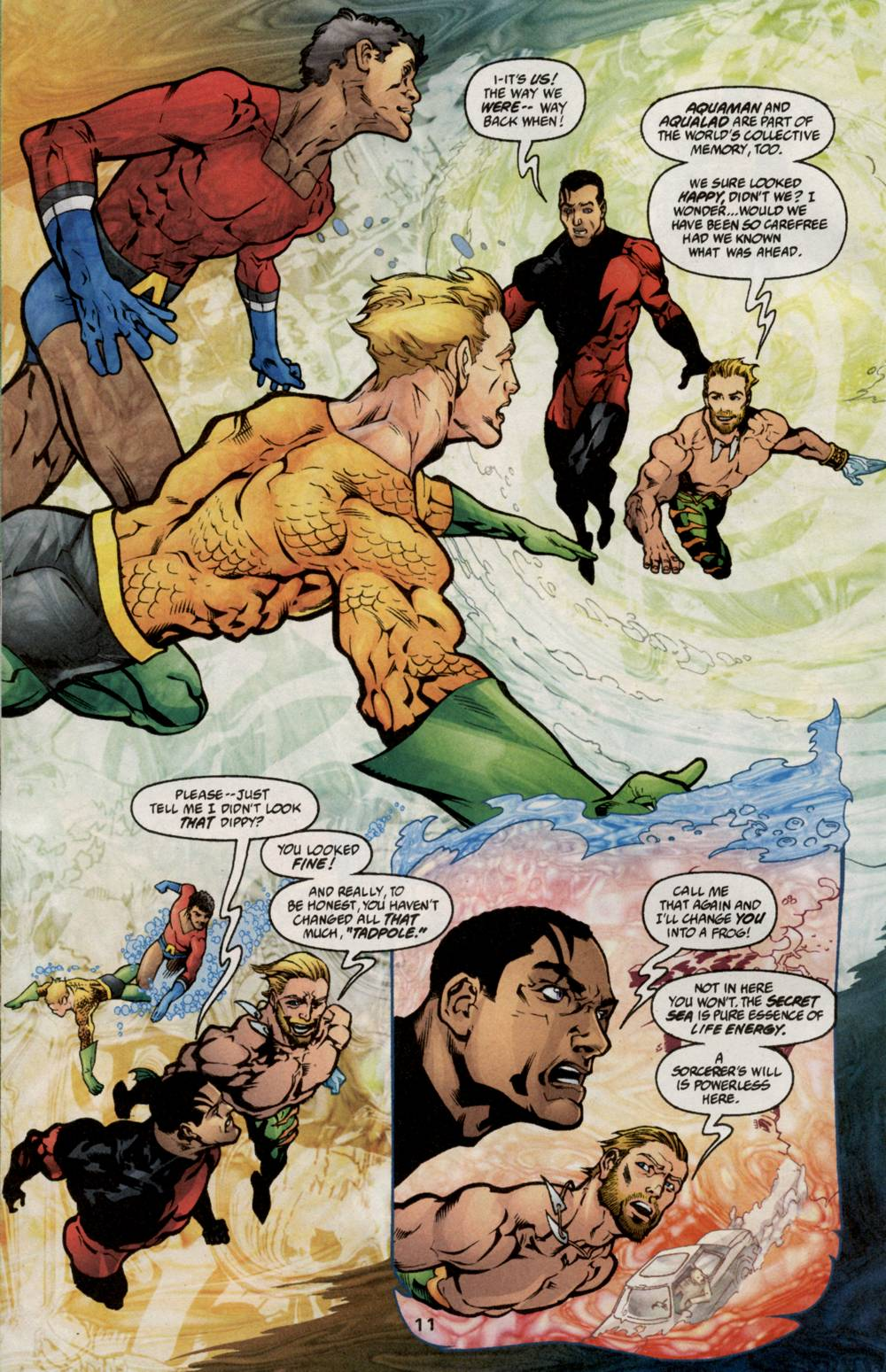 Read online Aquaman (2003) comic -  Issue #5 - 13