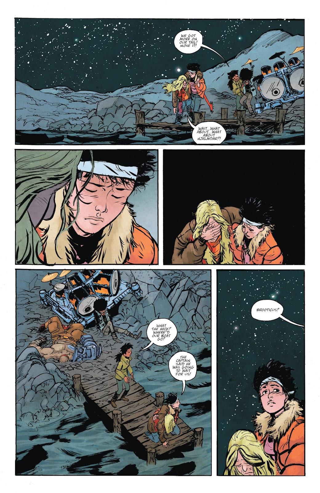 Read online Murder Falcon comic -  Issue #6 - 25