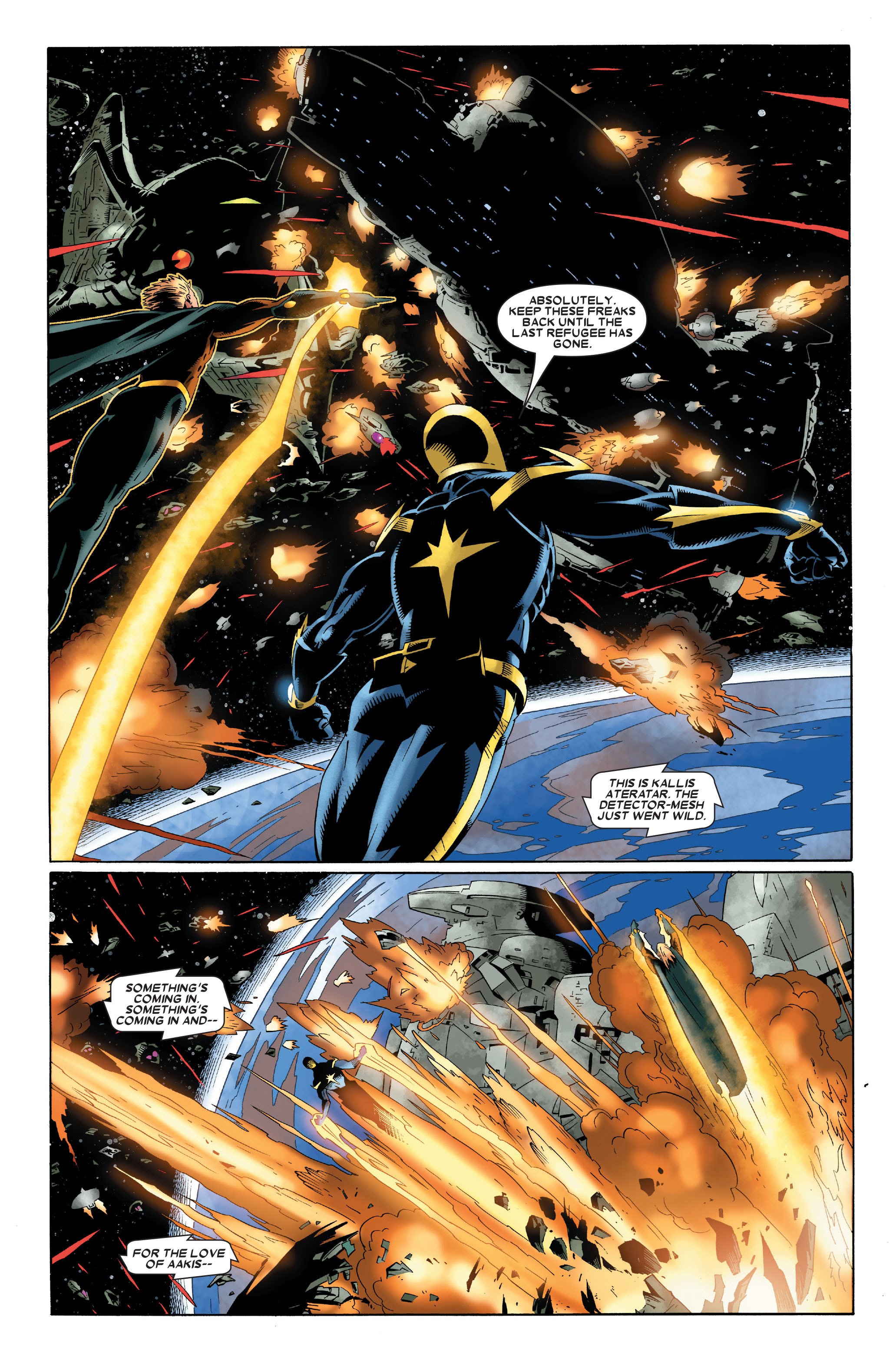 Read online Annihilation: Nova comic -  Issue #3 - 21