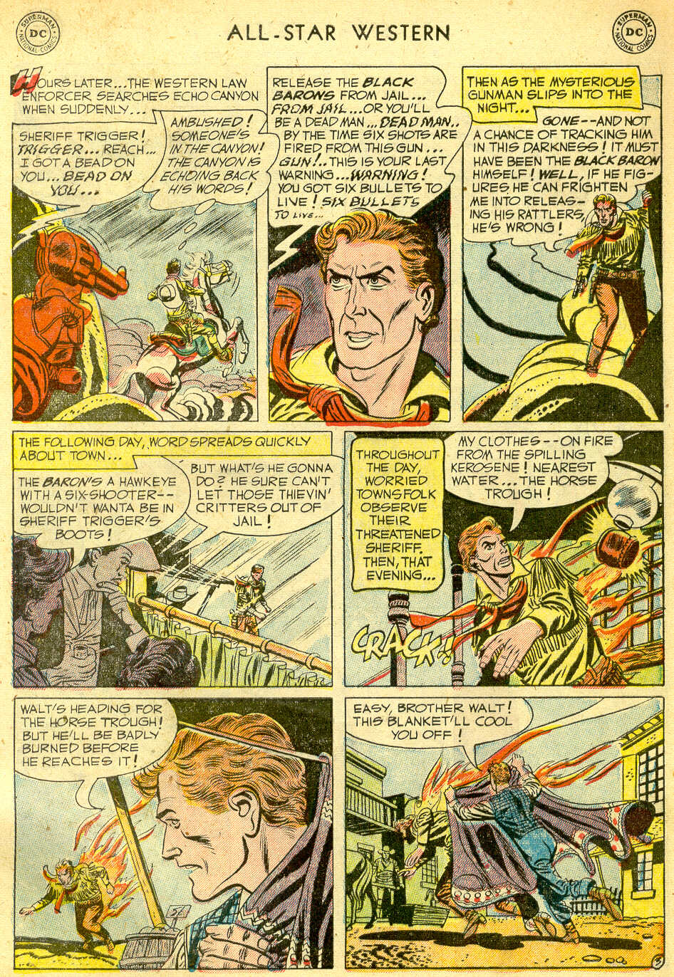 Read online All-Star Western (1951) comic -  Issue #68 - 5