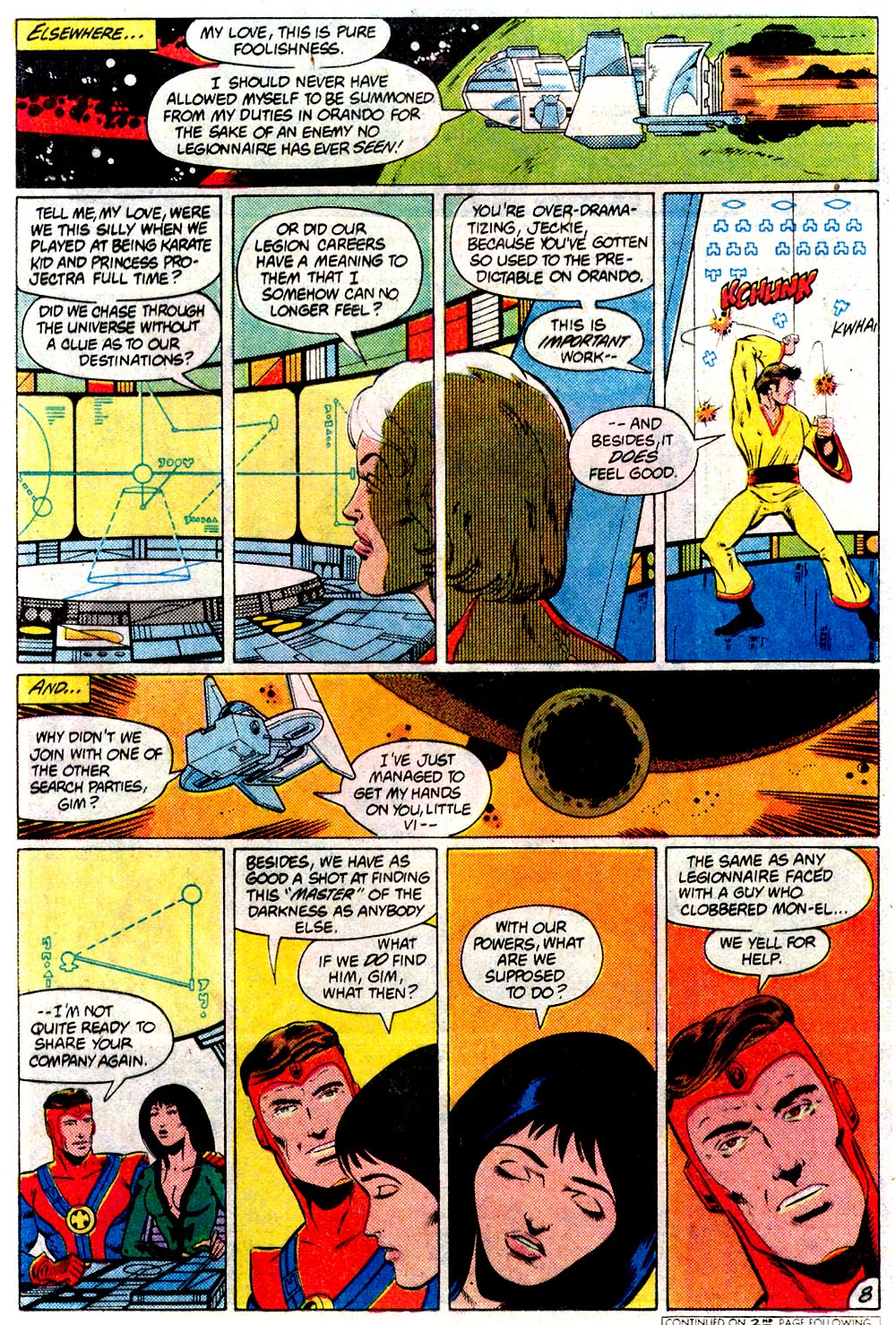 Legion of Super-Heroes (1980) 293 Page 8