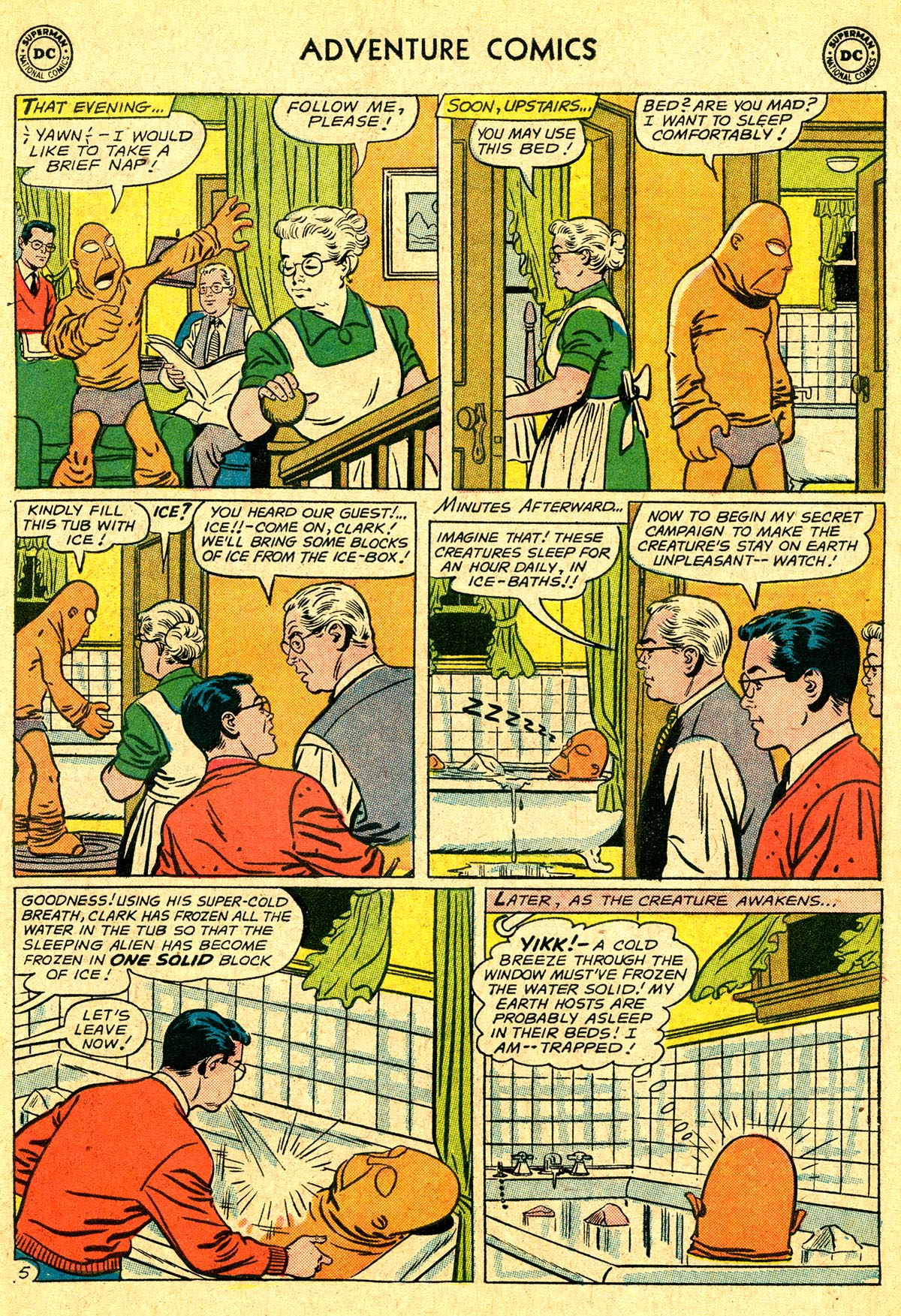 Read online Adventure Comics (1938) comic -  Issue #294 - 7