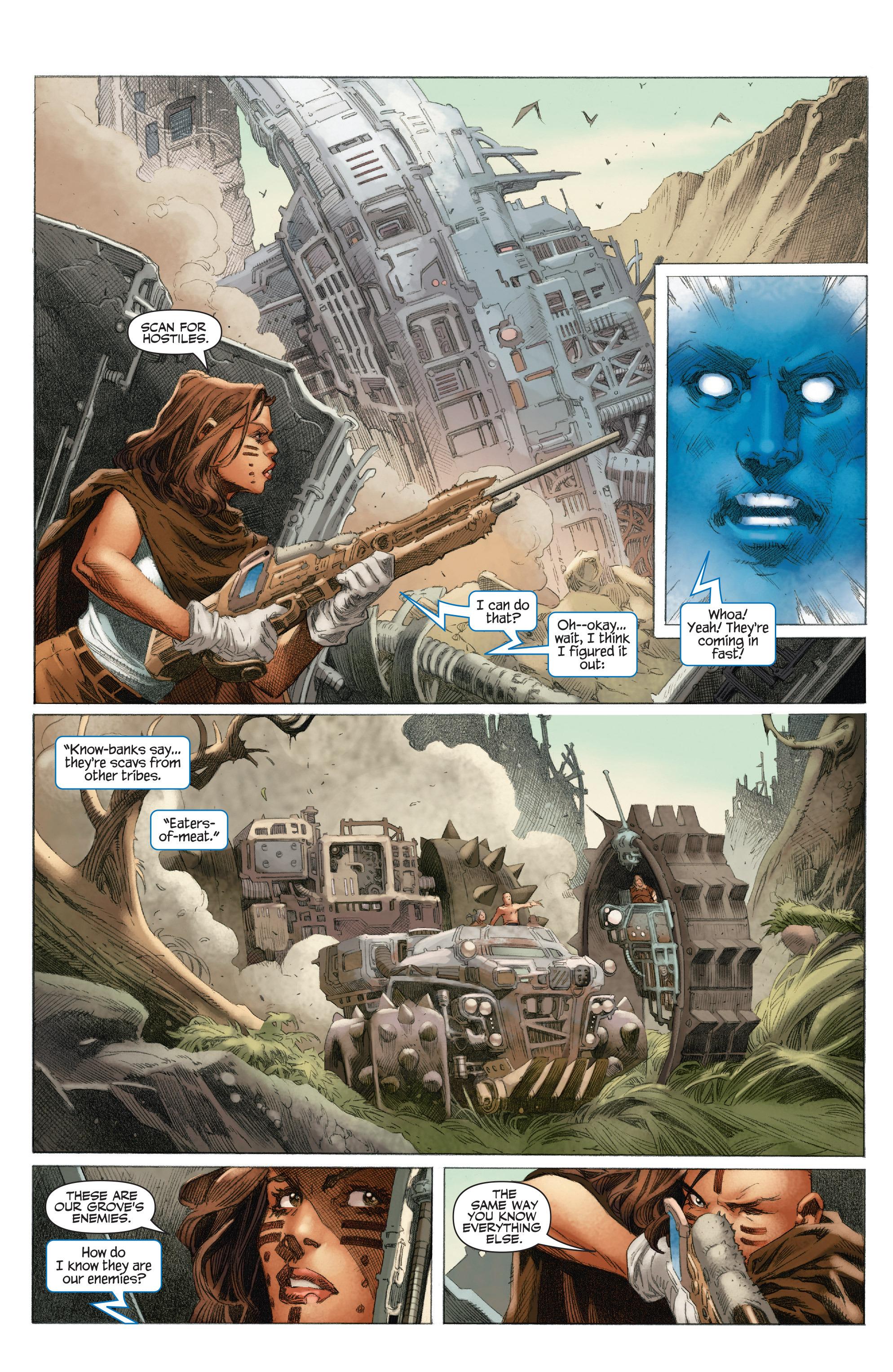 Read online 4001 A.D.: War Mother comic -  Issue #4001 A.D.: War Mother Full - 10