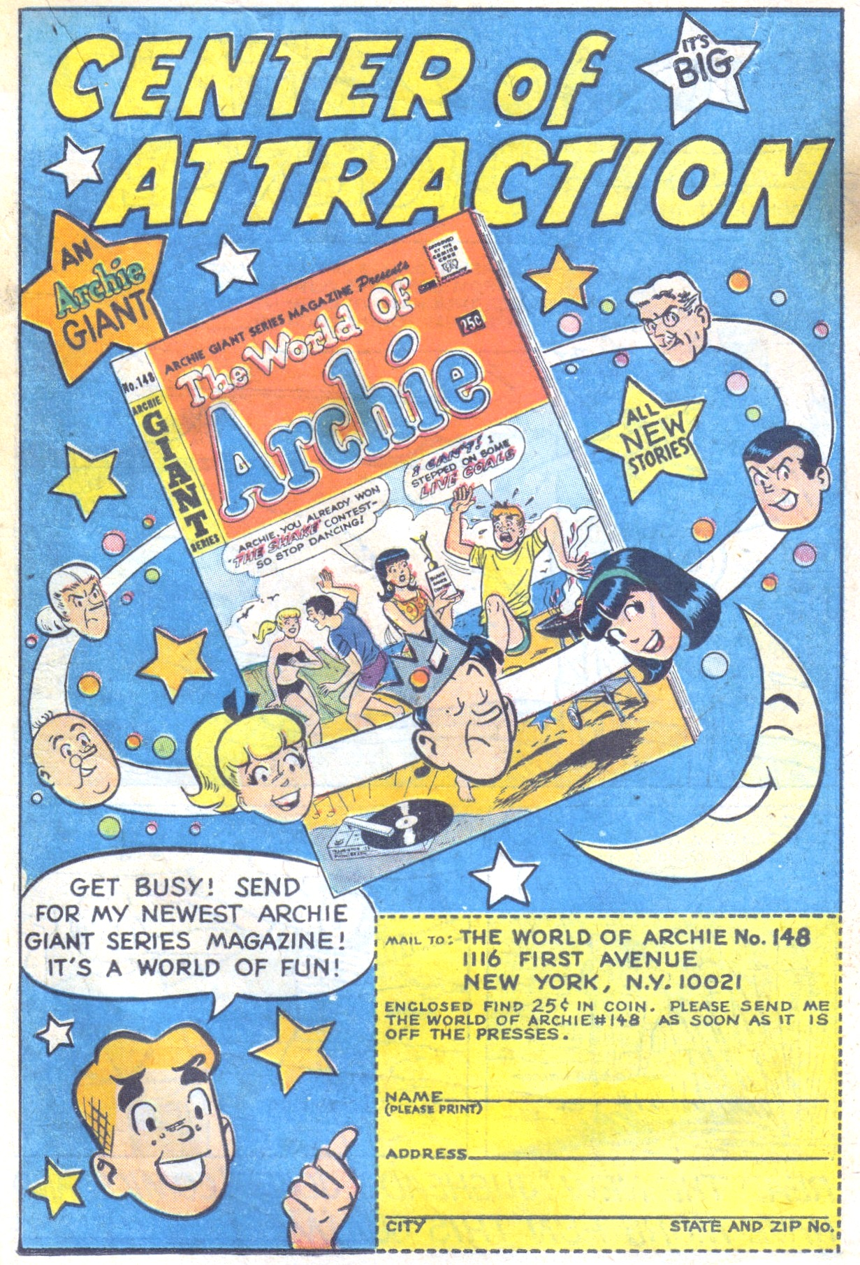 Read online Archie (1960) comic -  Issue #177 - 19