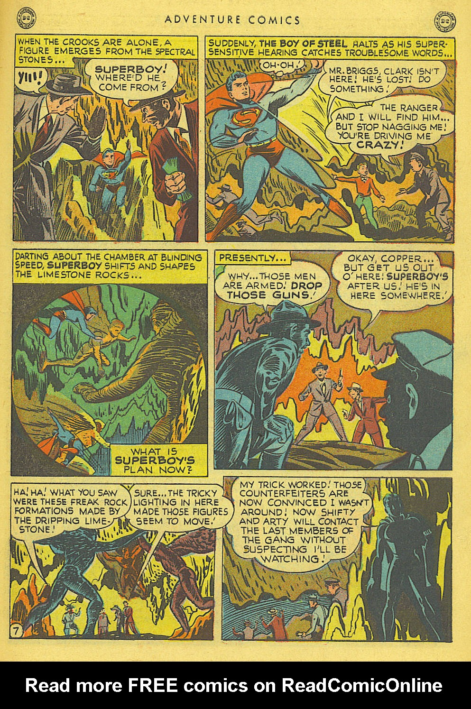 Read online Adventure Comics (1938) comic -  Issue #138 - 9