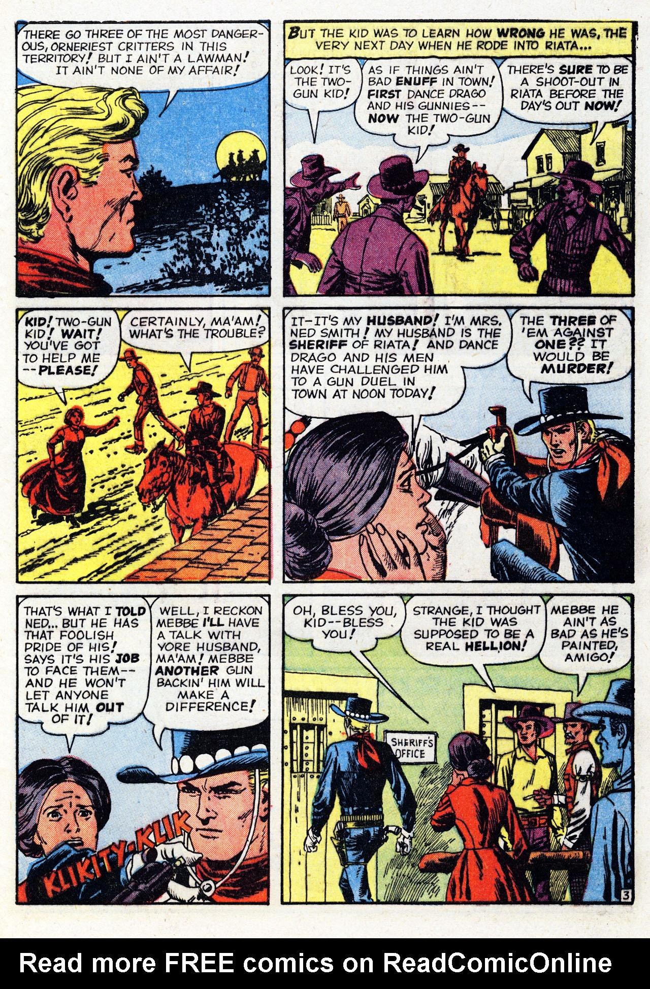 Read online Two-Gun Kid comic -  Issue #53 - 5