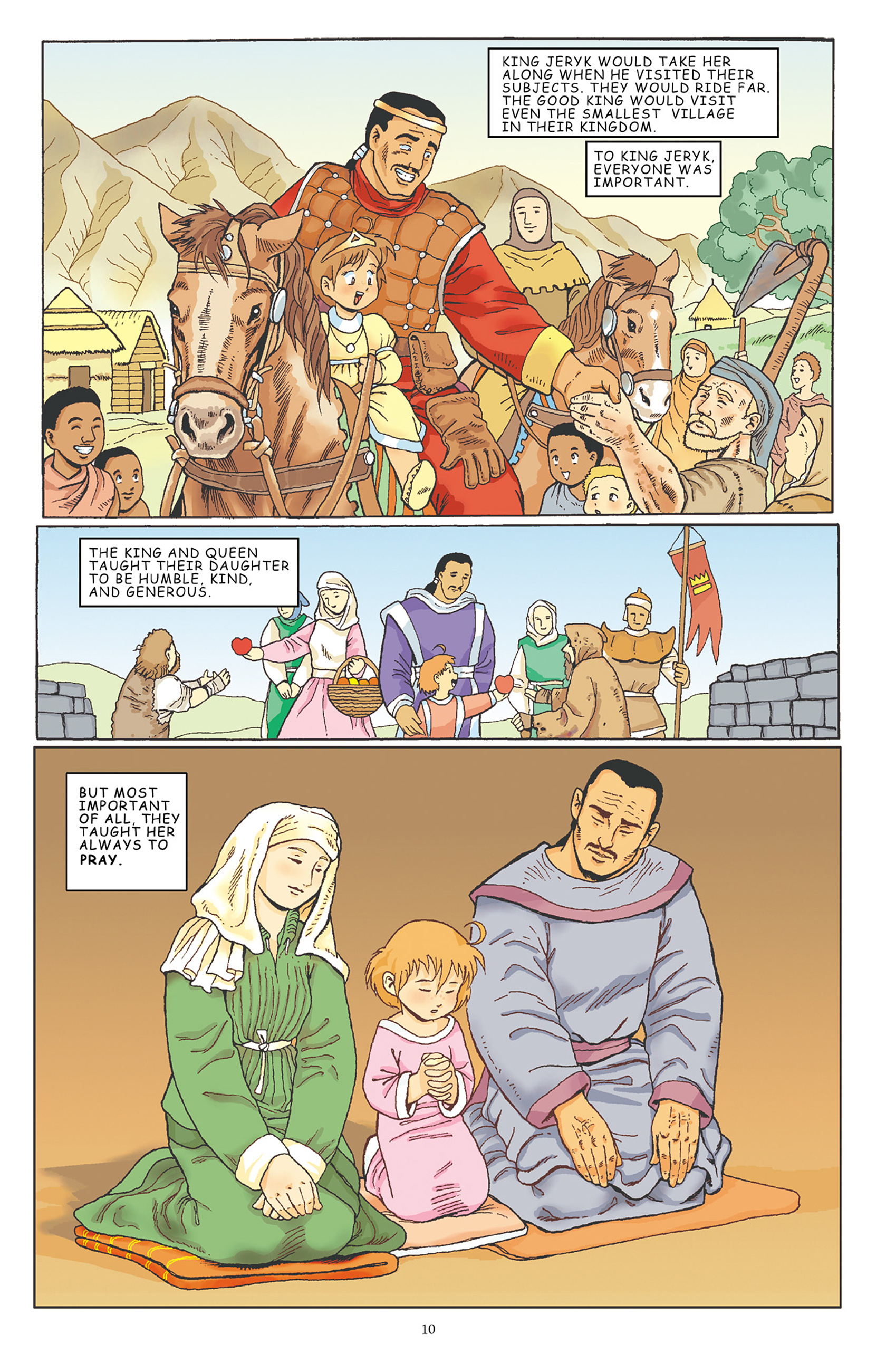 Read online Courageous Princess comic -  Issue # TPB 1 - 11