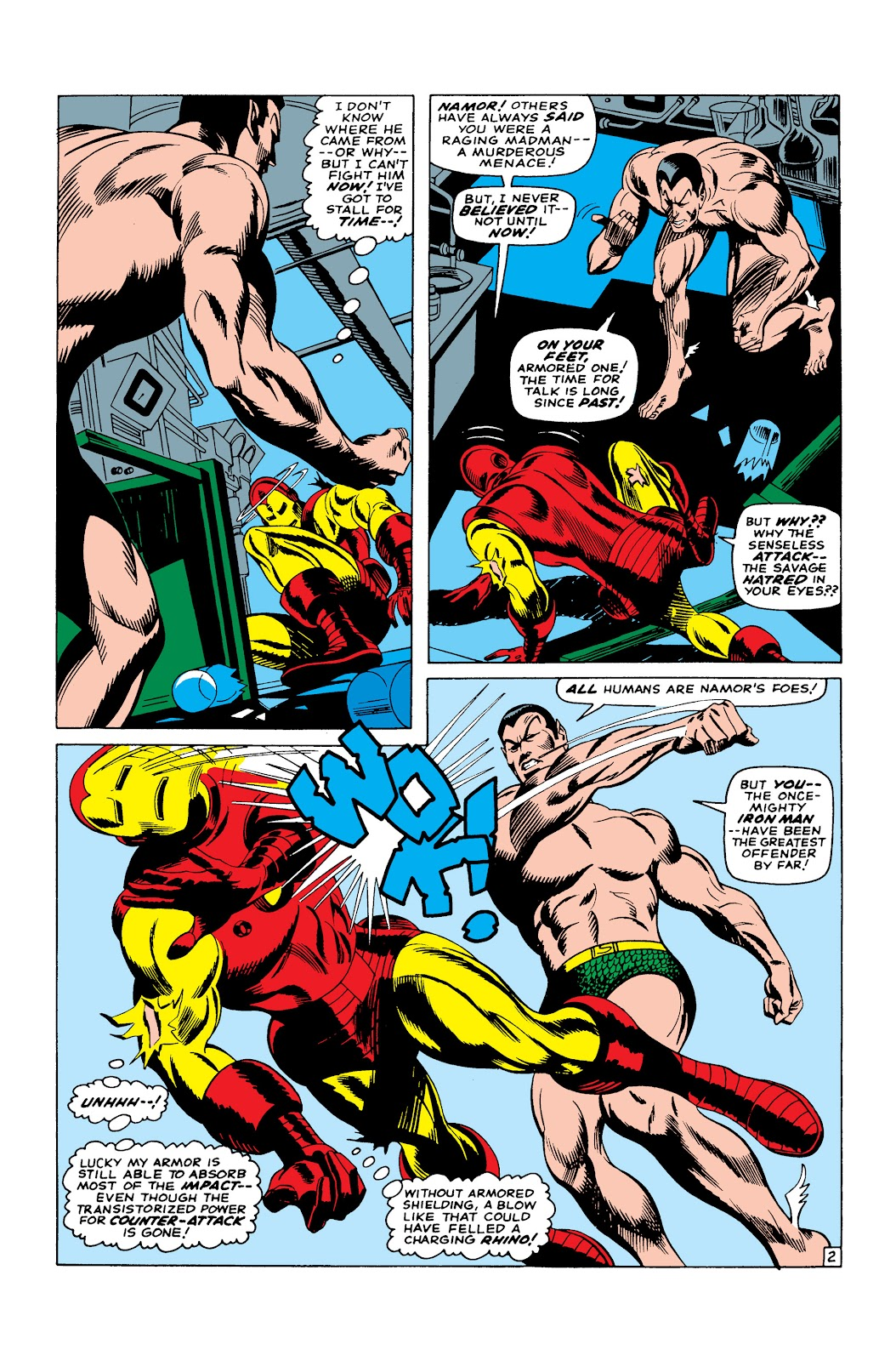 Read online Marvel Masterworks: The Invincible Iron Man comic -  Issue # TPB 3 (Part 4) - 27