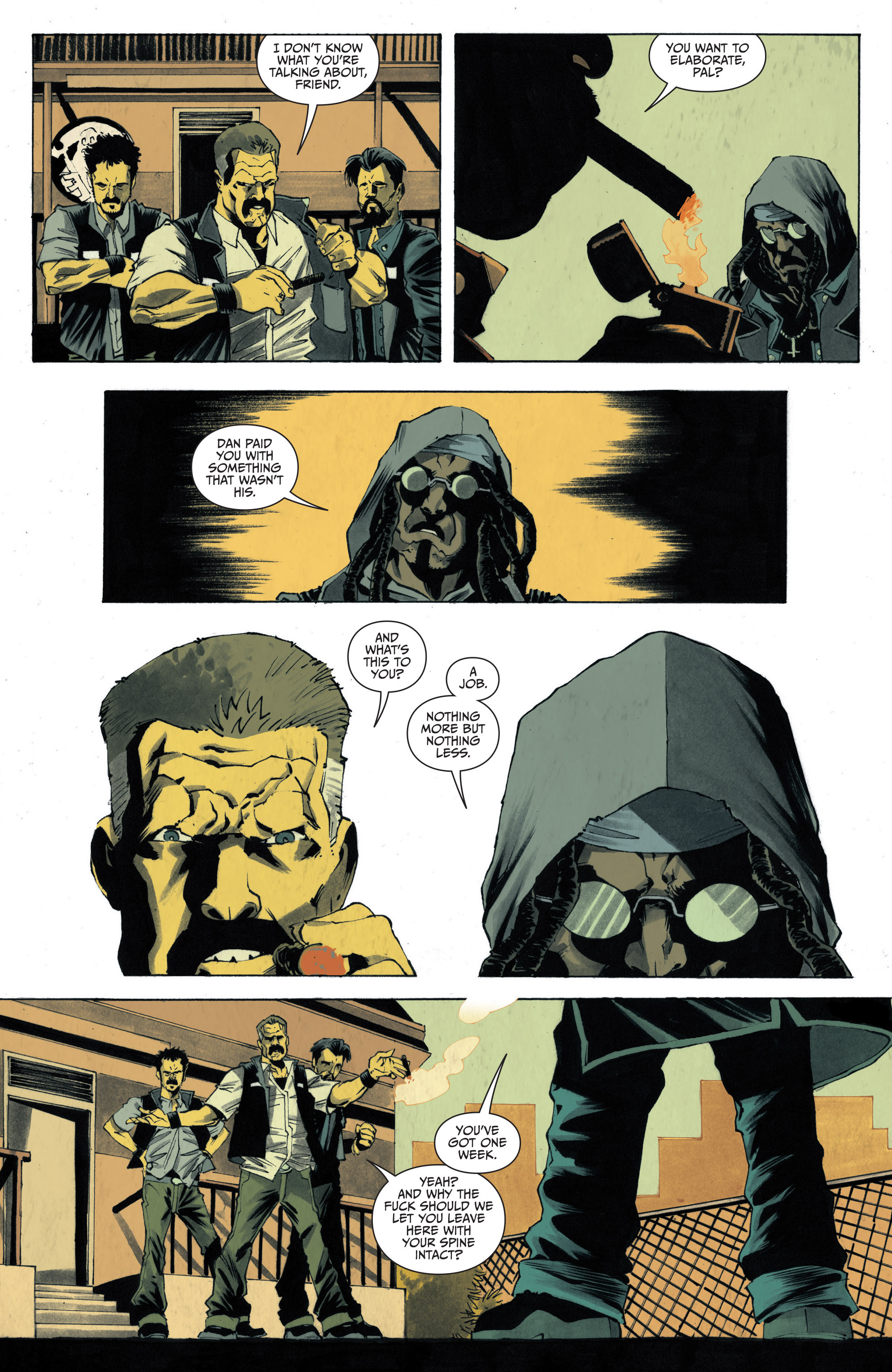 Read online Sons of Anarchy: Redwood Original comic -  Issue #4 - 16