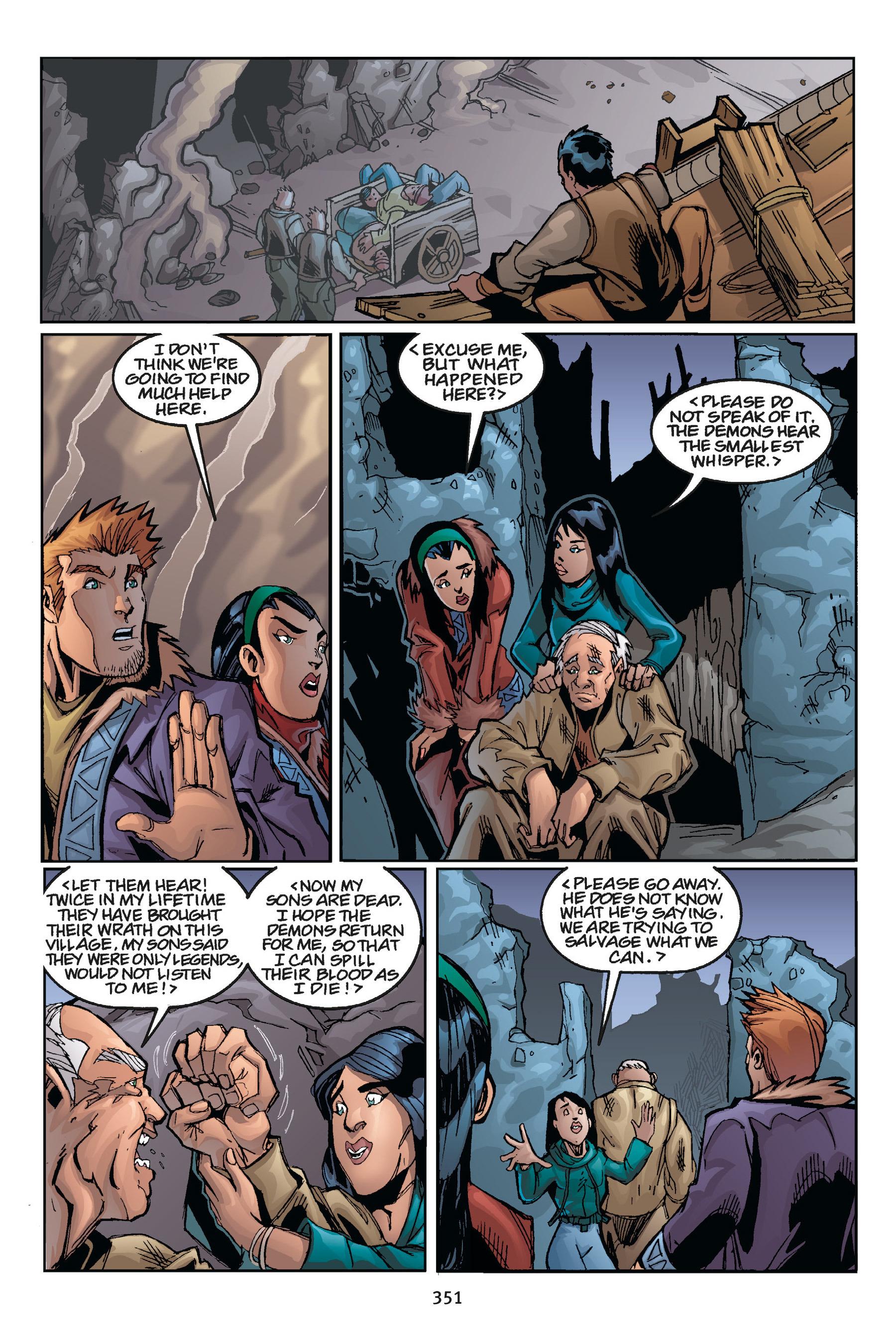Read online Buffy the Vampire Slayer: Omnibus comic -  Issue # TPB 5 - 349