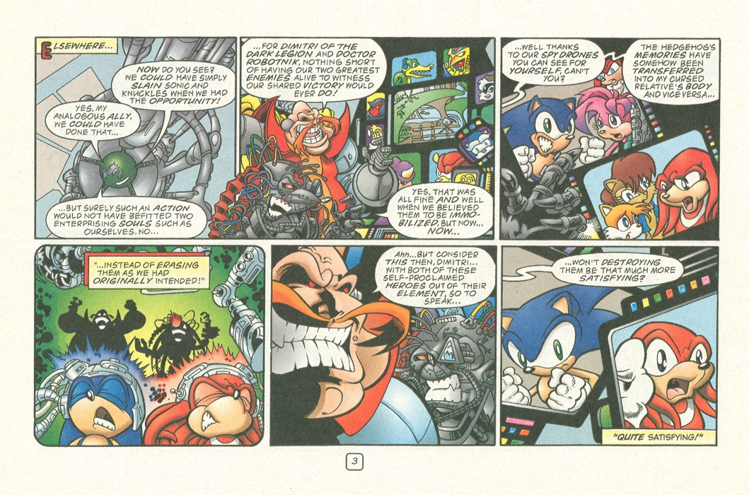Read online Sonic Super Special comic -  Issue #12 - Sonic and Knuckles visa versa - 6