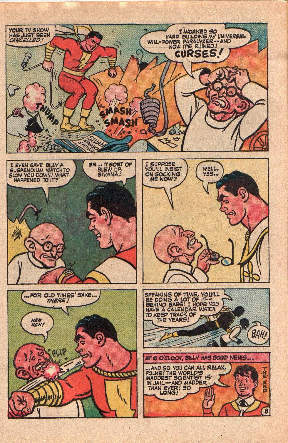 Read online Shazam! (1973) comic -  Issue #6 - 11