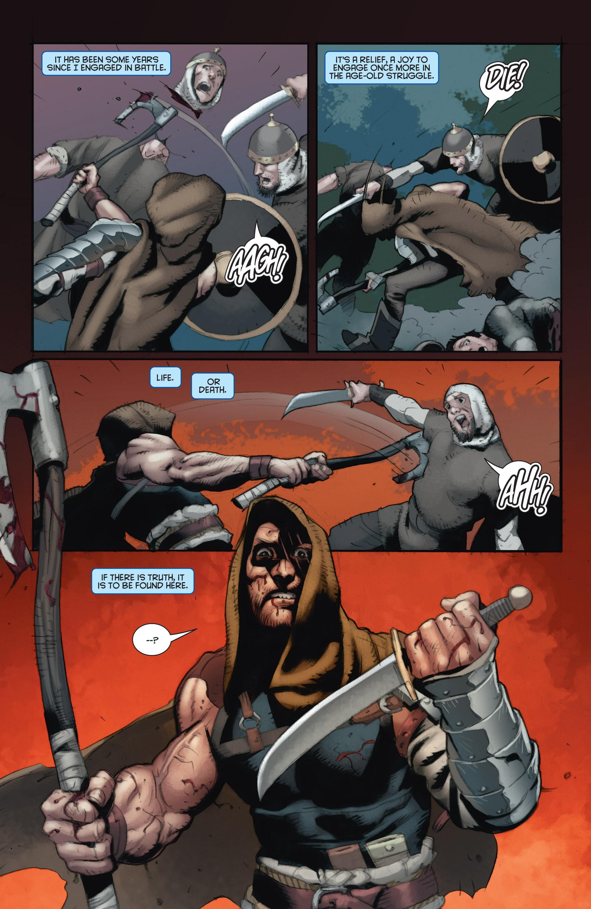 Read online Eternal Warrior: Days of Steel comic -  Issue #1 - 22
